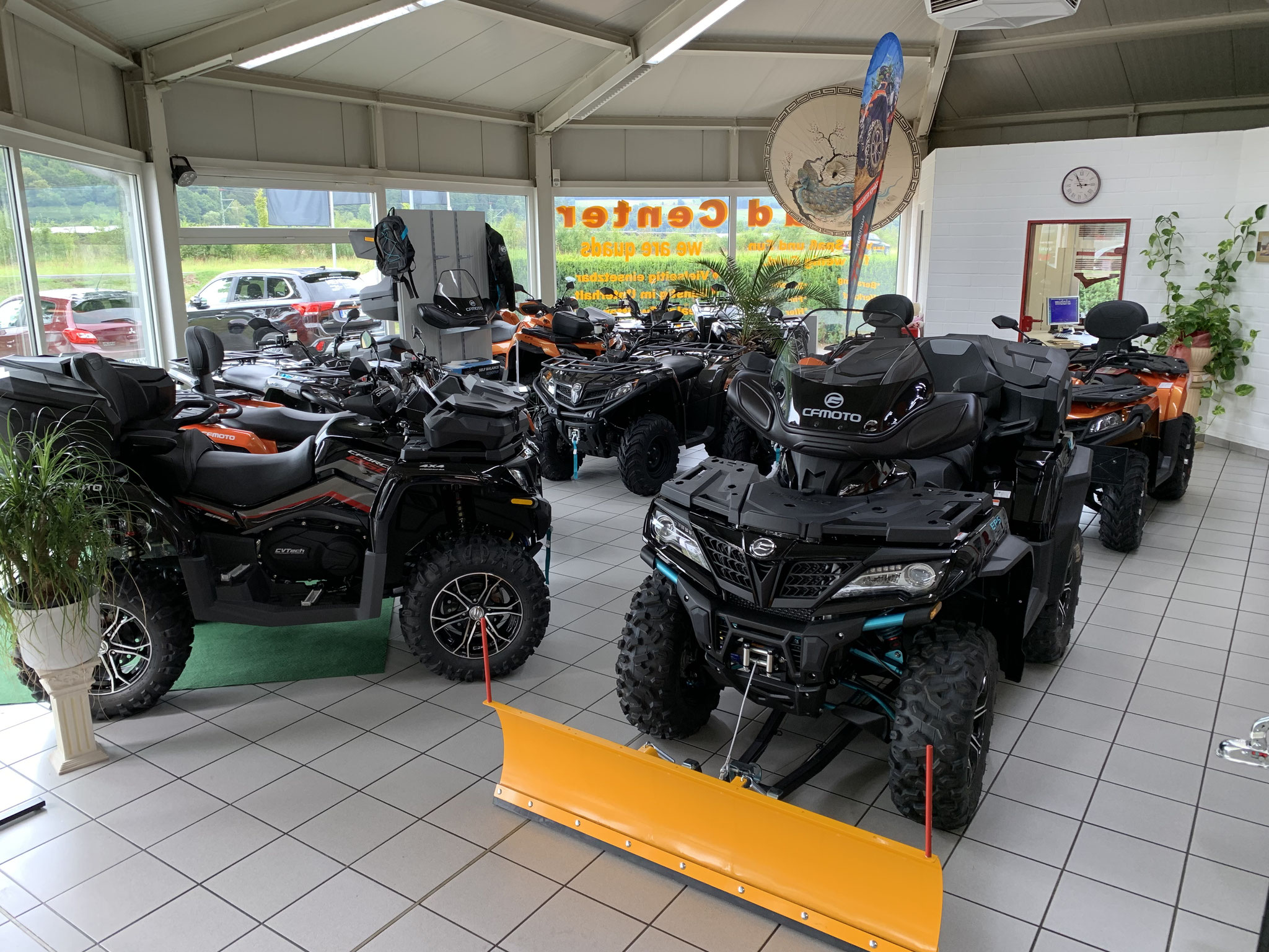 Quad, ATV Showroom