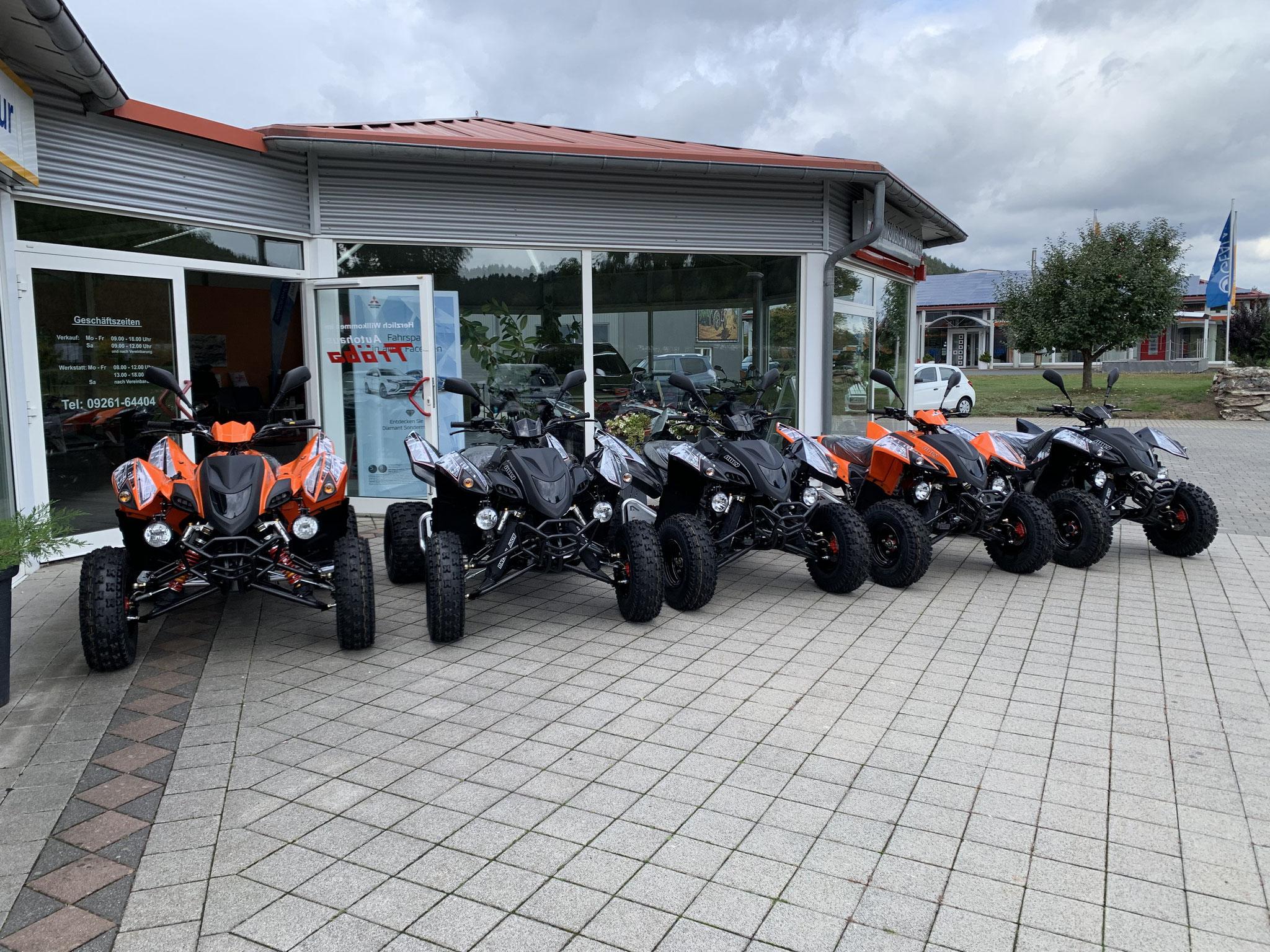 Quad, ATV Ausstellung