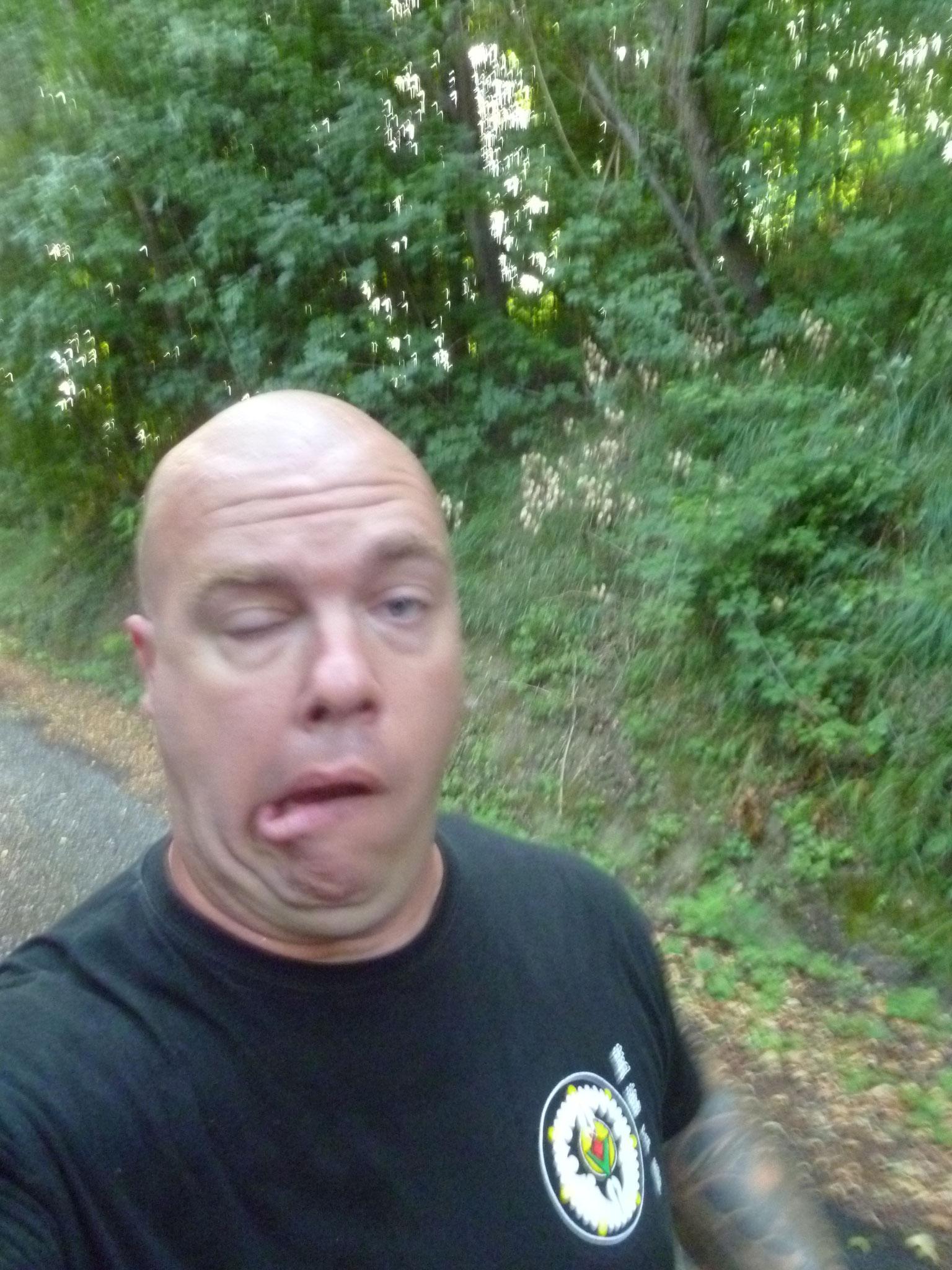 Arghhhhh!!! Je crois que courir dès le matin c'est pas mon truc!!