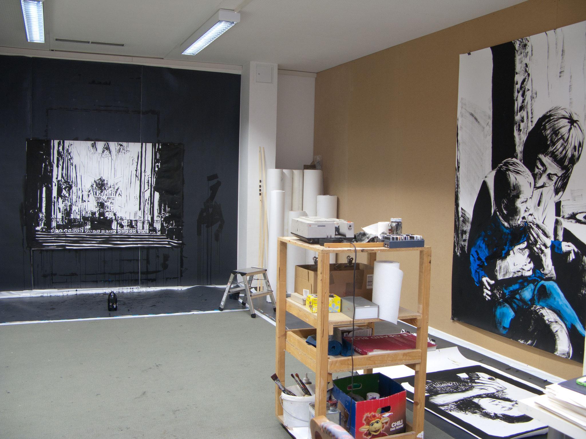 Atelieransicht 2014, Nieder-Olm