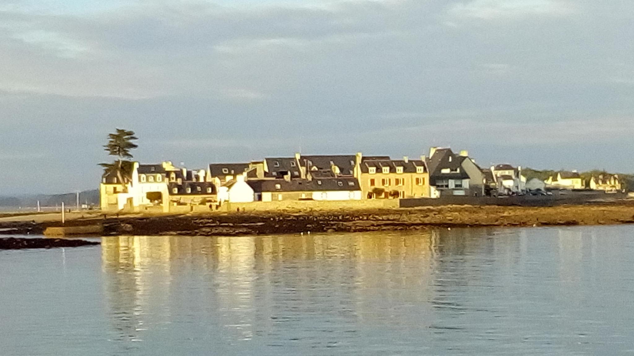 L'Ile Tudy, vu depuis Loctudy
