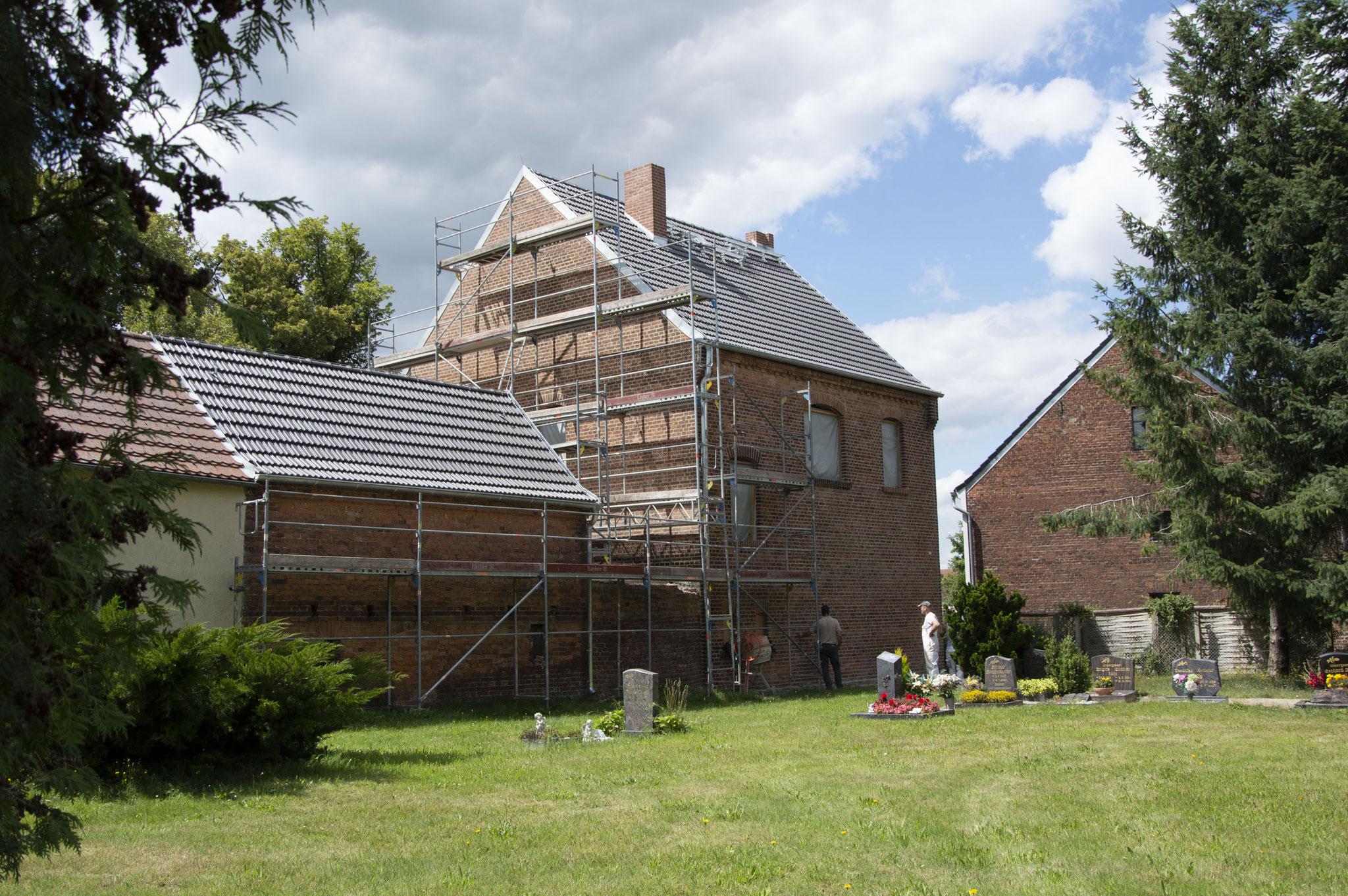 Gemeindehaus Danna (Ansicht Friedhof)