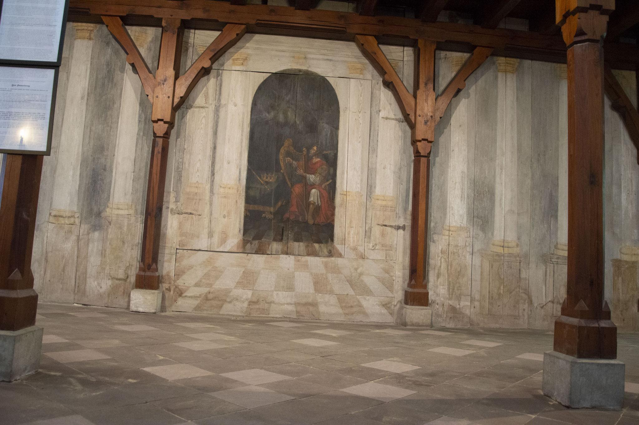 Pflasterarbeiten, Klosterkirche St. Marien, Kloster Zinna