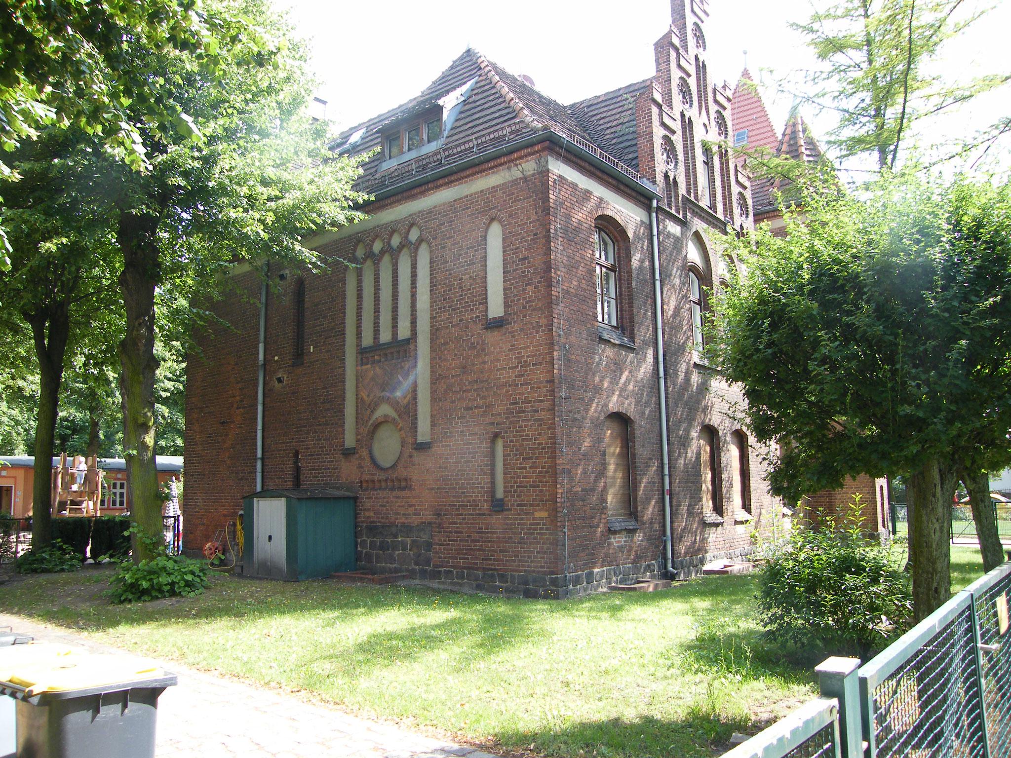 Lutherkirche - Ev. Kirchengemeinde Rosenthal-Wilhelmsruh
