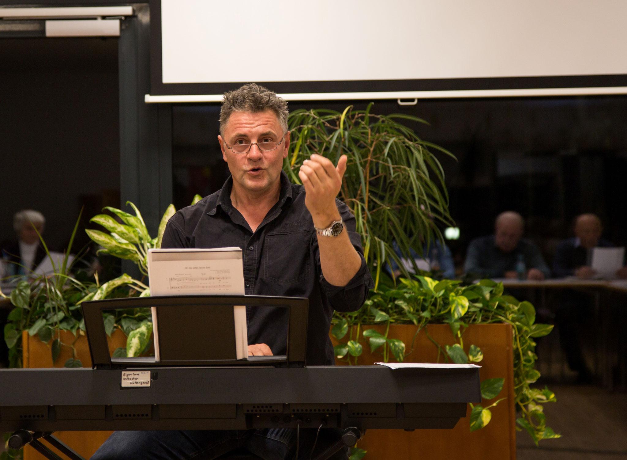 Unser Dirigent Matthias Heil