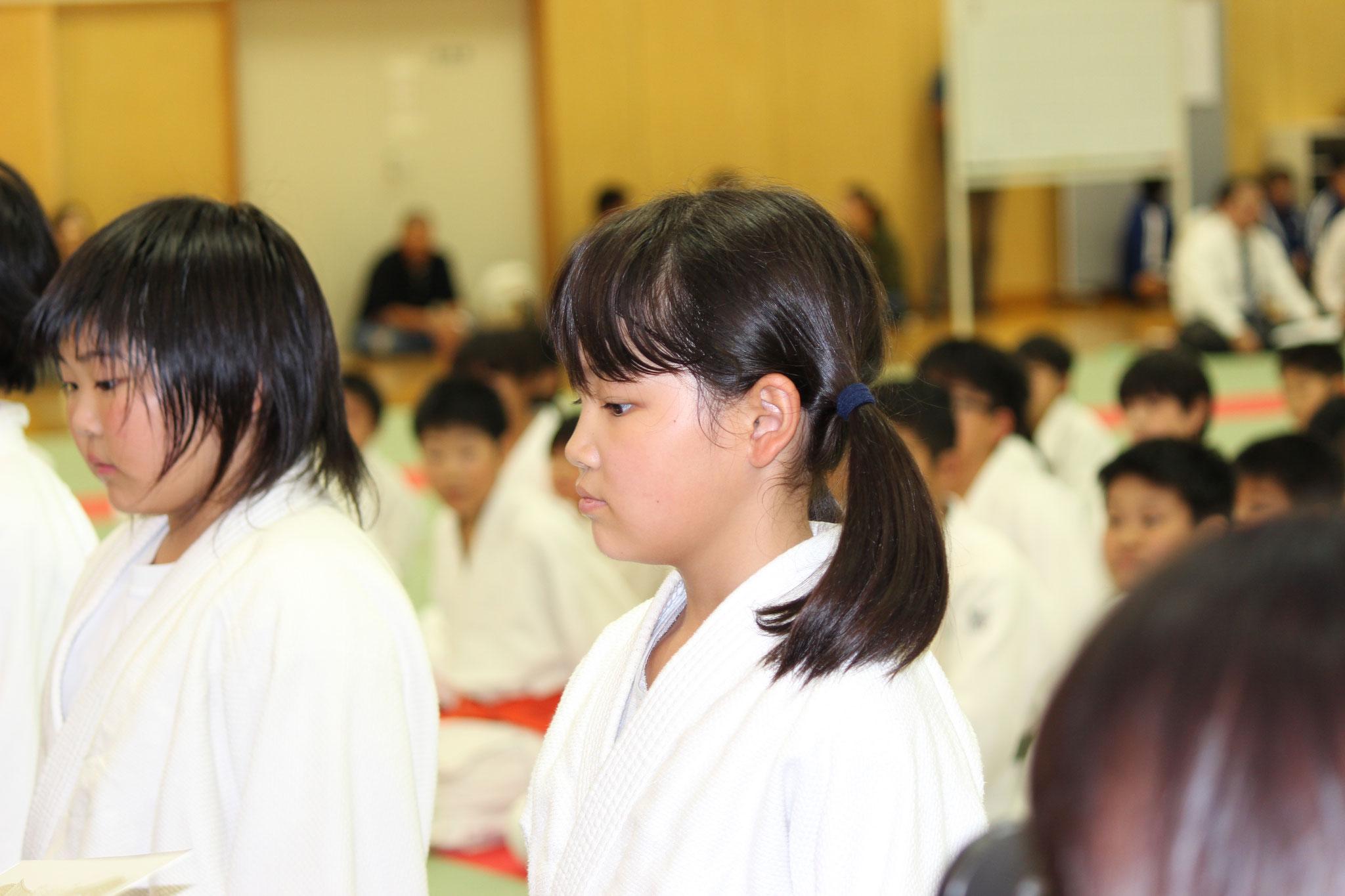 4年女子の部 表彰式