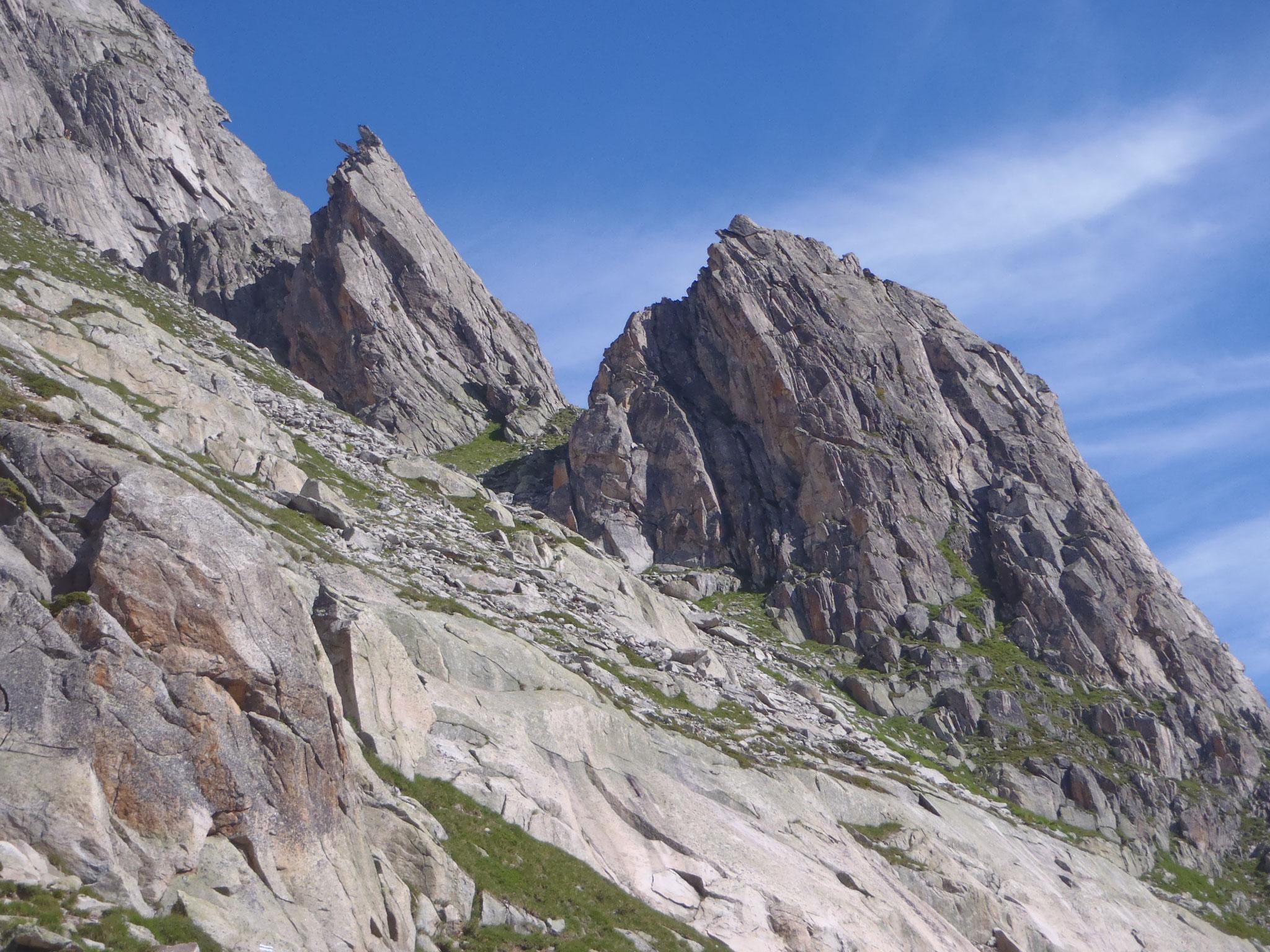 Klettersteig Krokodil : Schweiz klettersteige am sustenpass