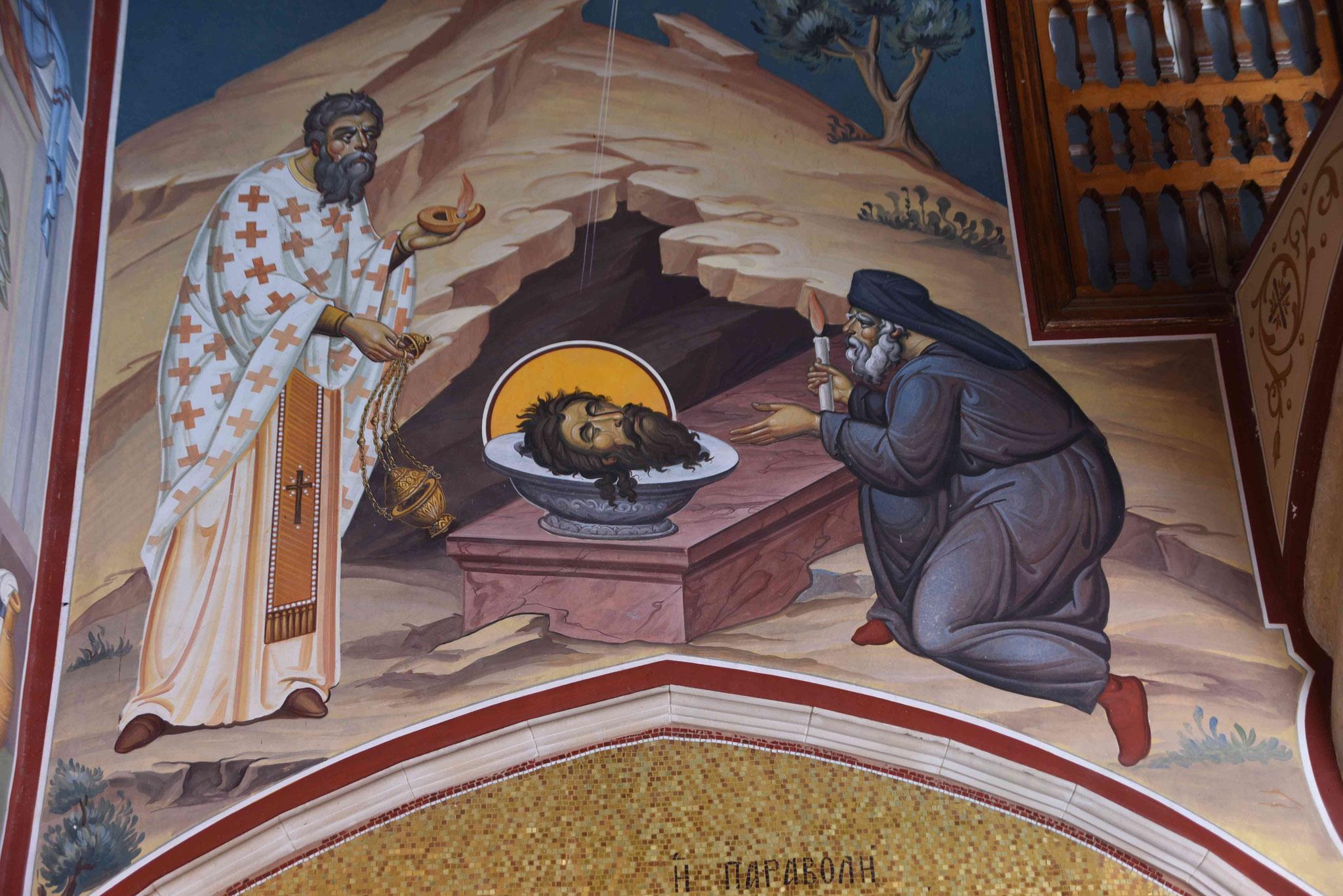 Gemälde von Glaubensgeschichten findet man viele- auch makabre