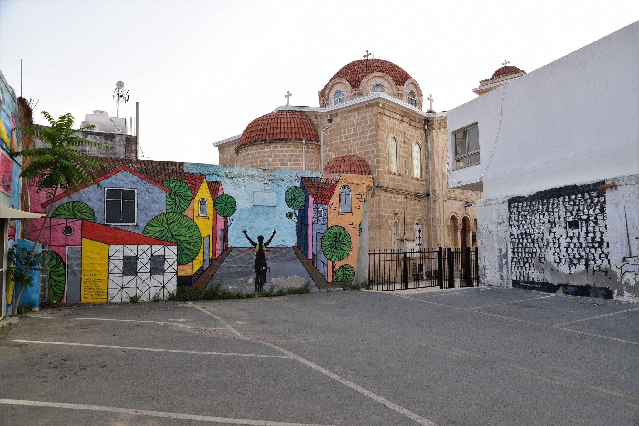 Grafitti der postitiven Art