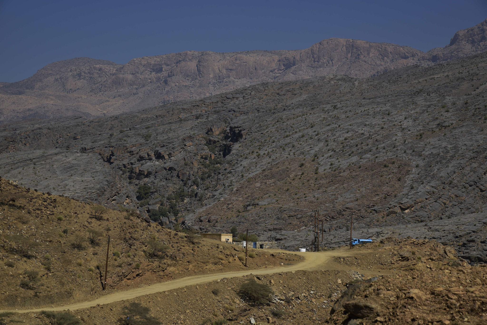 Auf dem Weg zum Jebel Shams VII