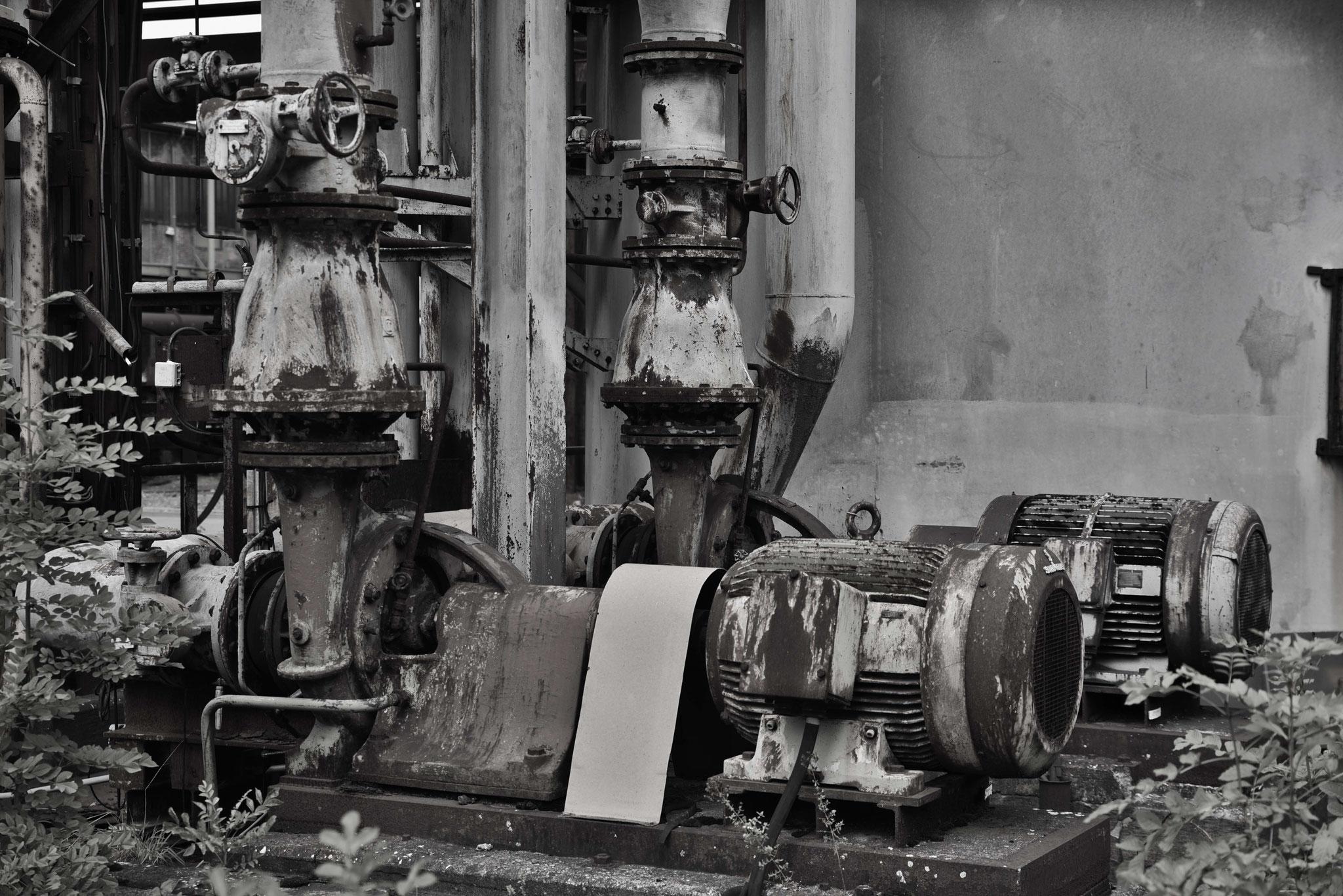 Alte Pumpen (in SW gewandelt)
