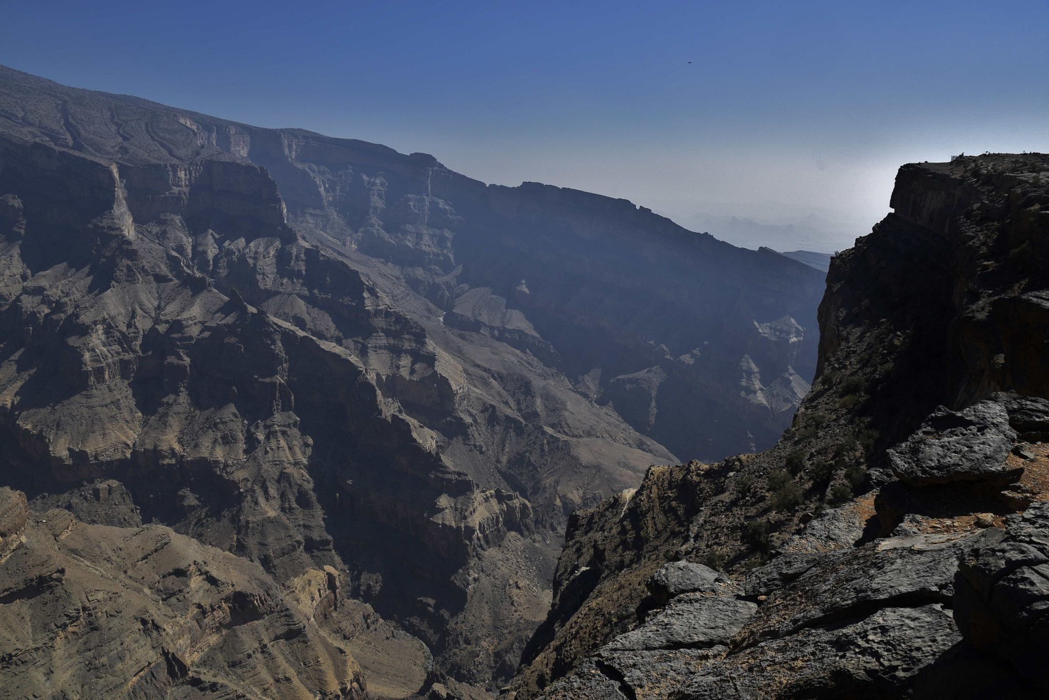 Schlucht am Jebel Shams