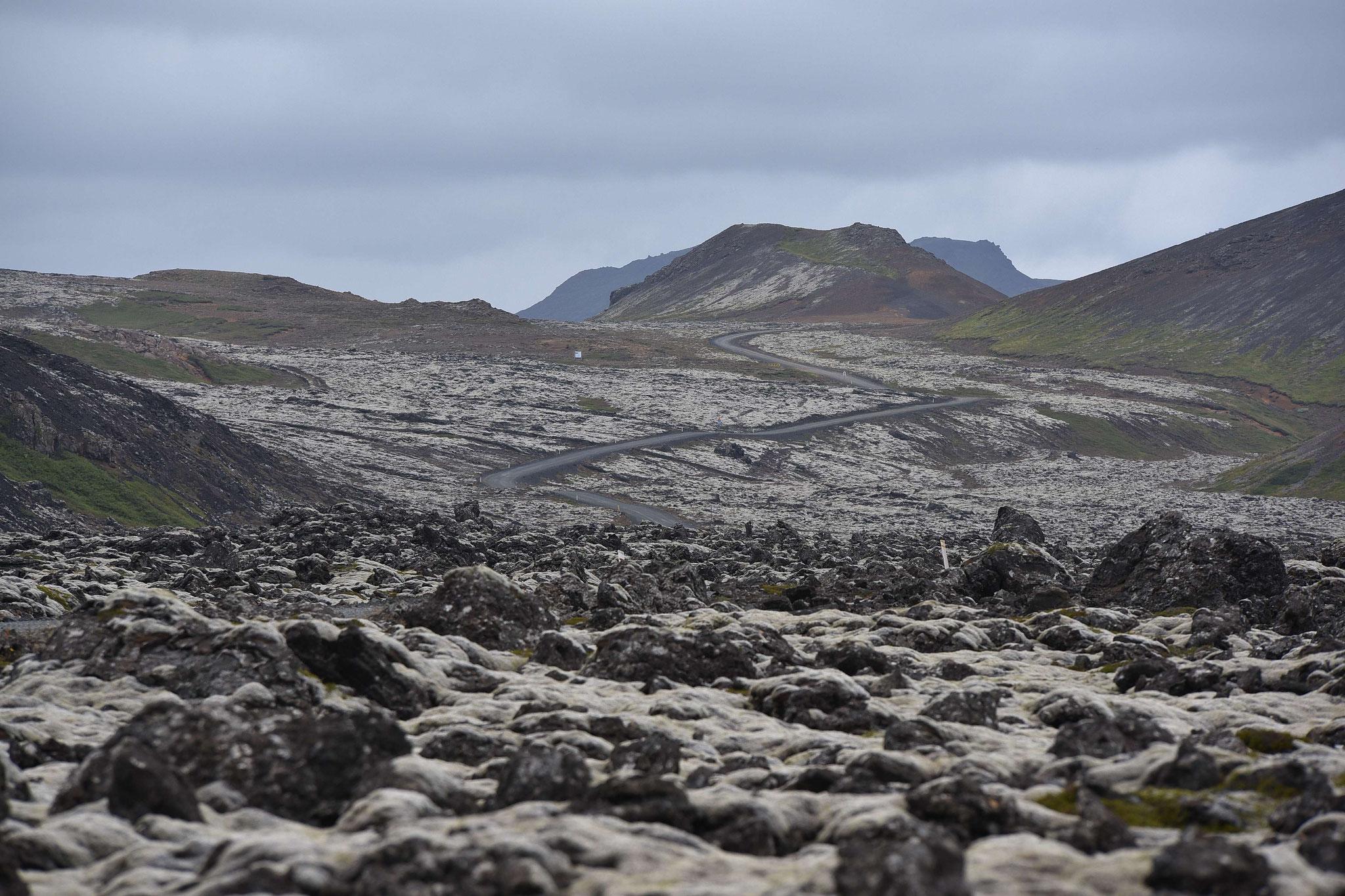 Im süden der Halbinsel Reykjanes