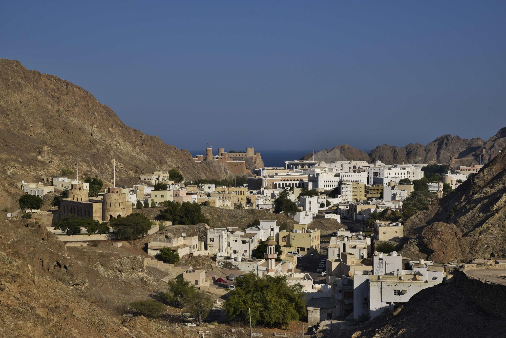 Muscat mit dem Regierungsviertel