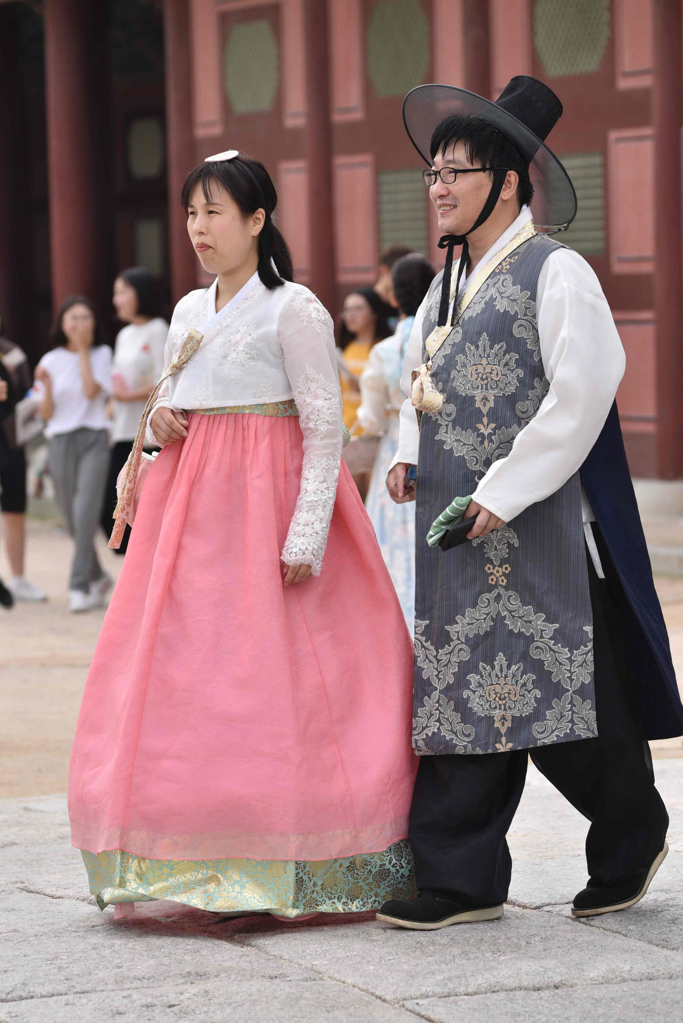 Hanbok-Modenschau