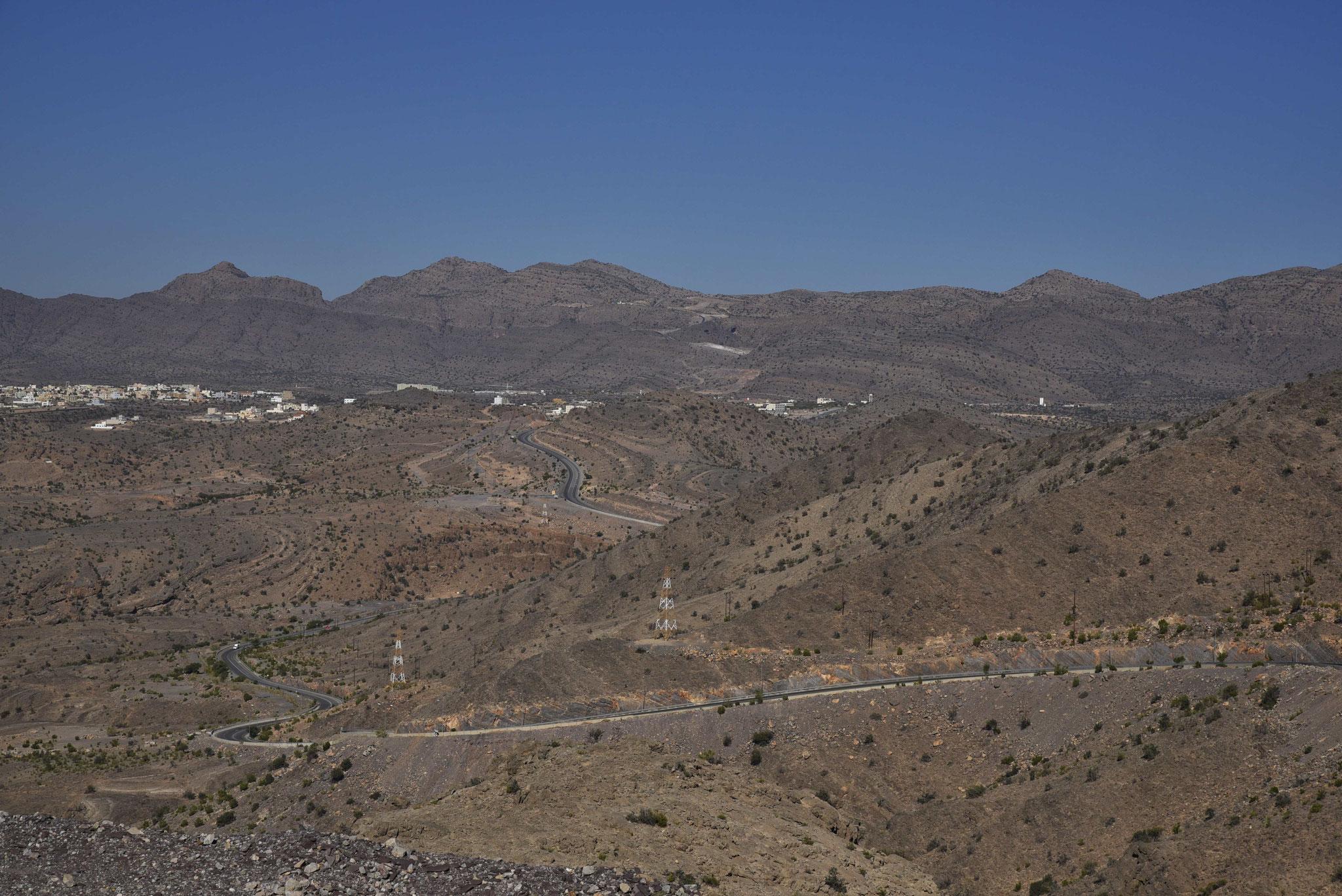 Blick auf die Umgebung des Jebel Akhdar II