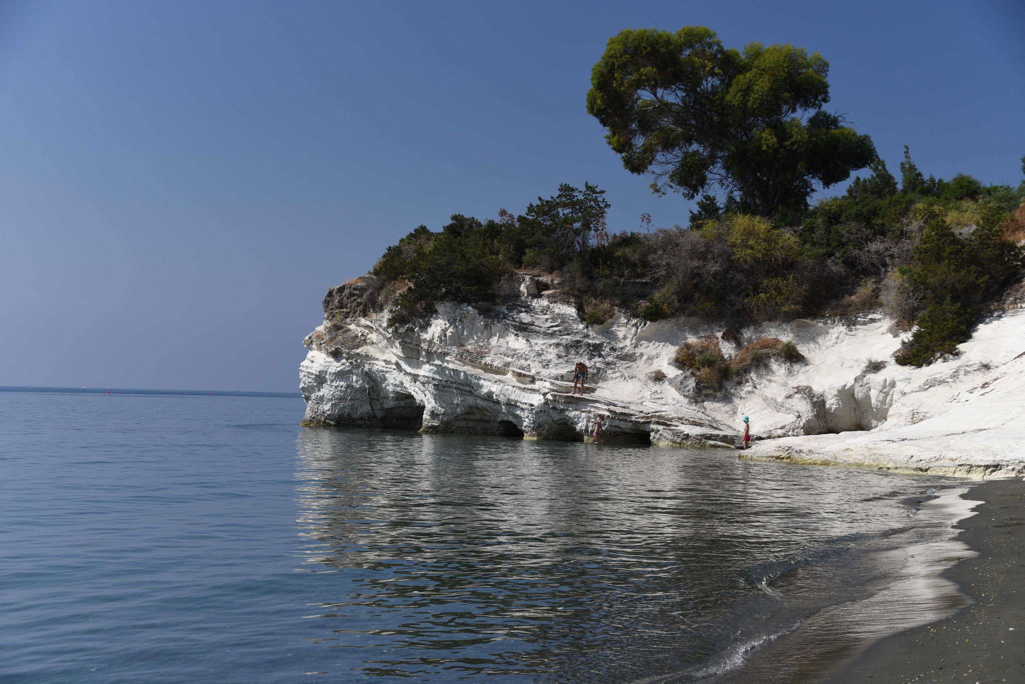 Schöne Bucht am Koúrion Beach