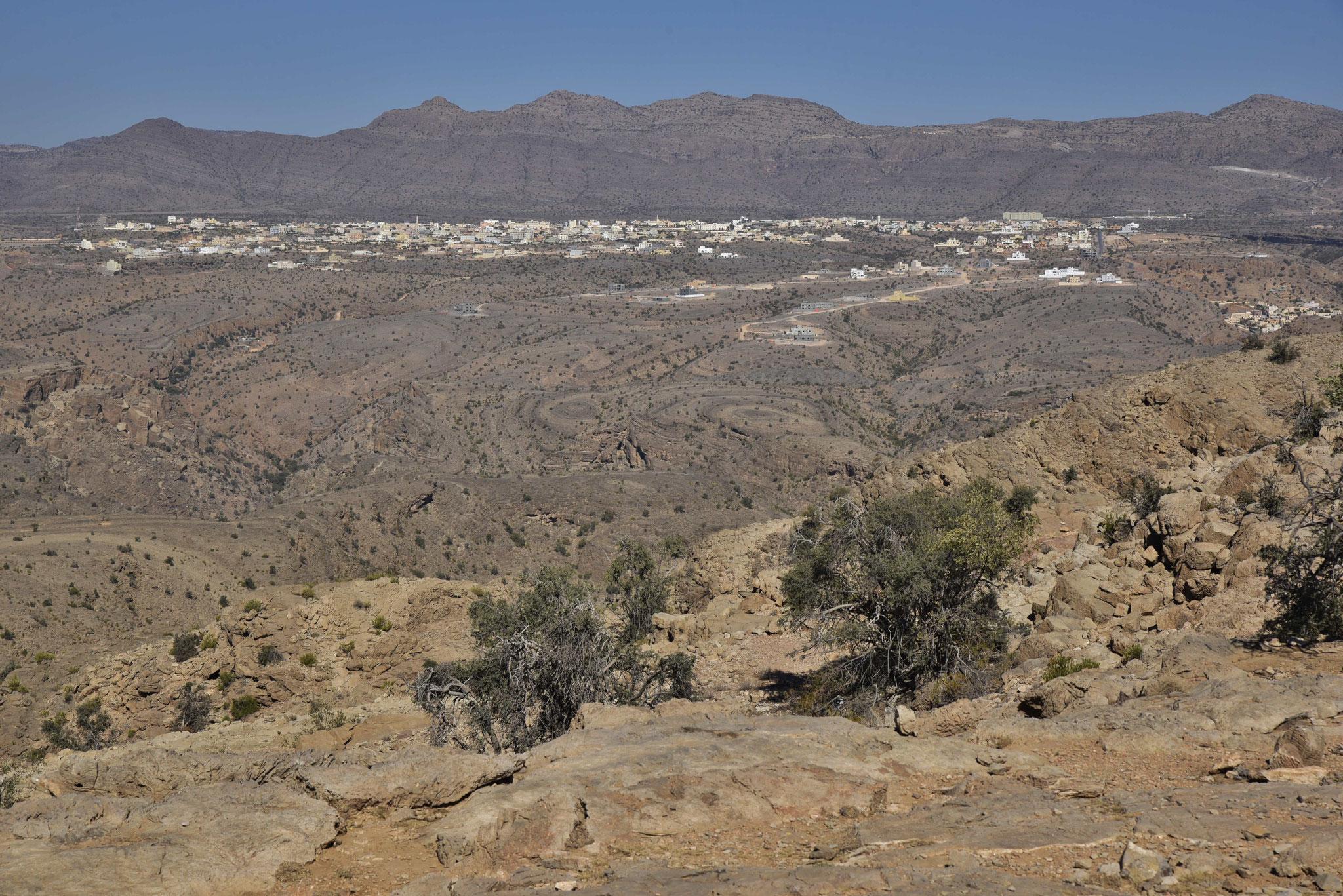 Blick auf die Umgebung des Jebel Akhdar III