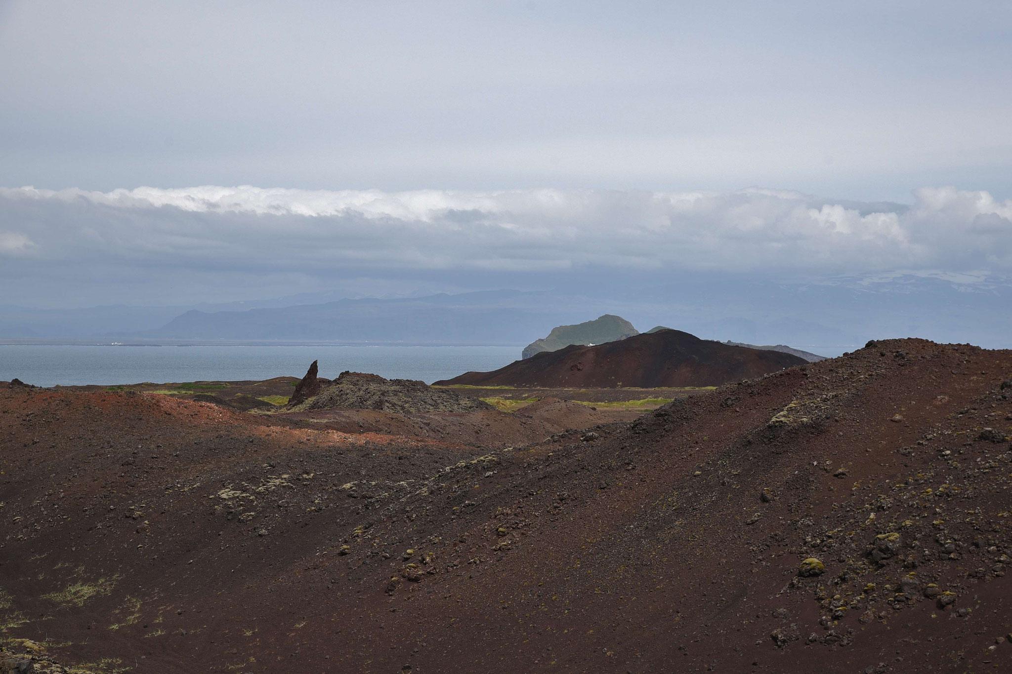 Vulkan Eldfell bei Heimay (1973 letztmalig ausgebrochen)