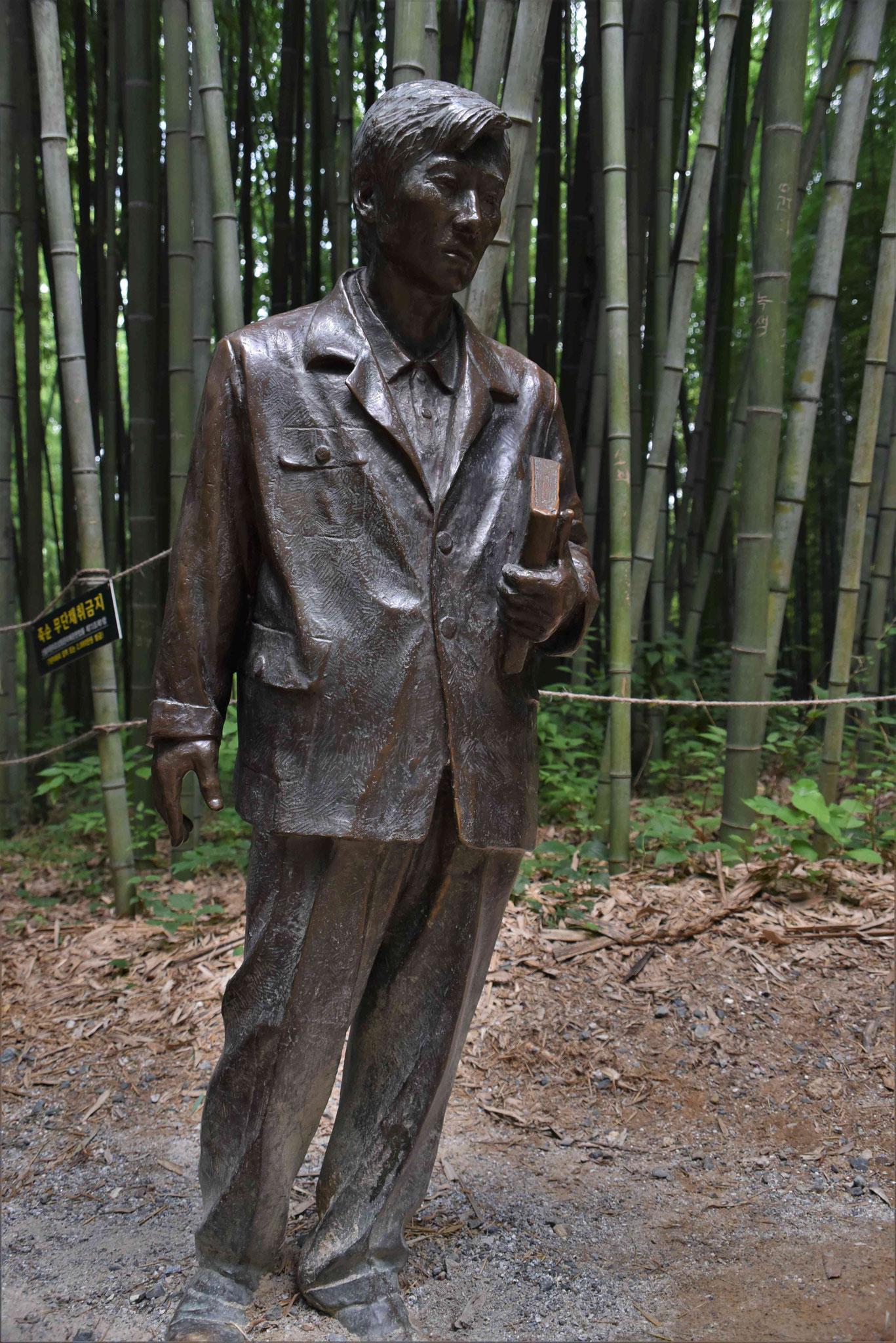 Der Stifter des Bambusparks