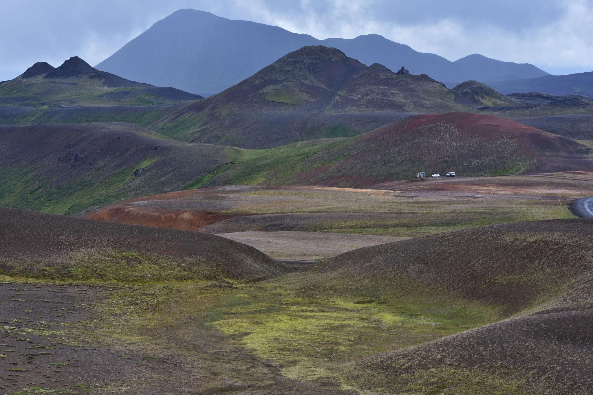 Krafla - bunte Hügelwelt