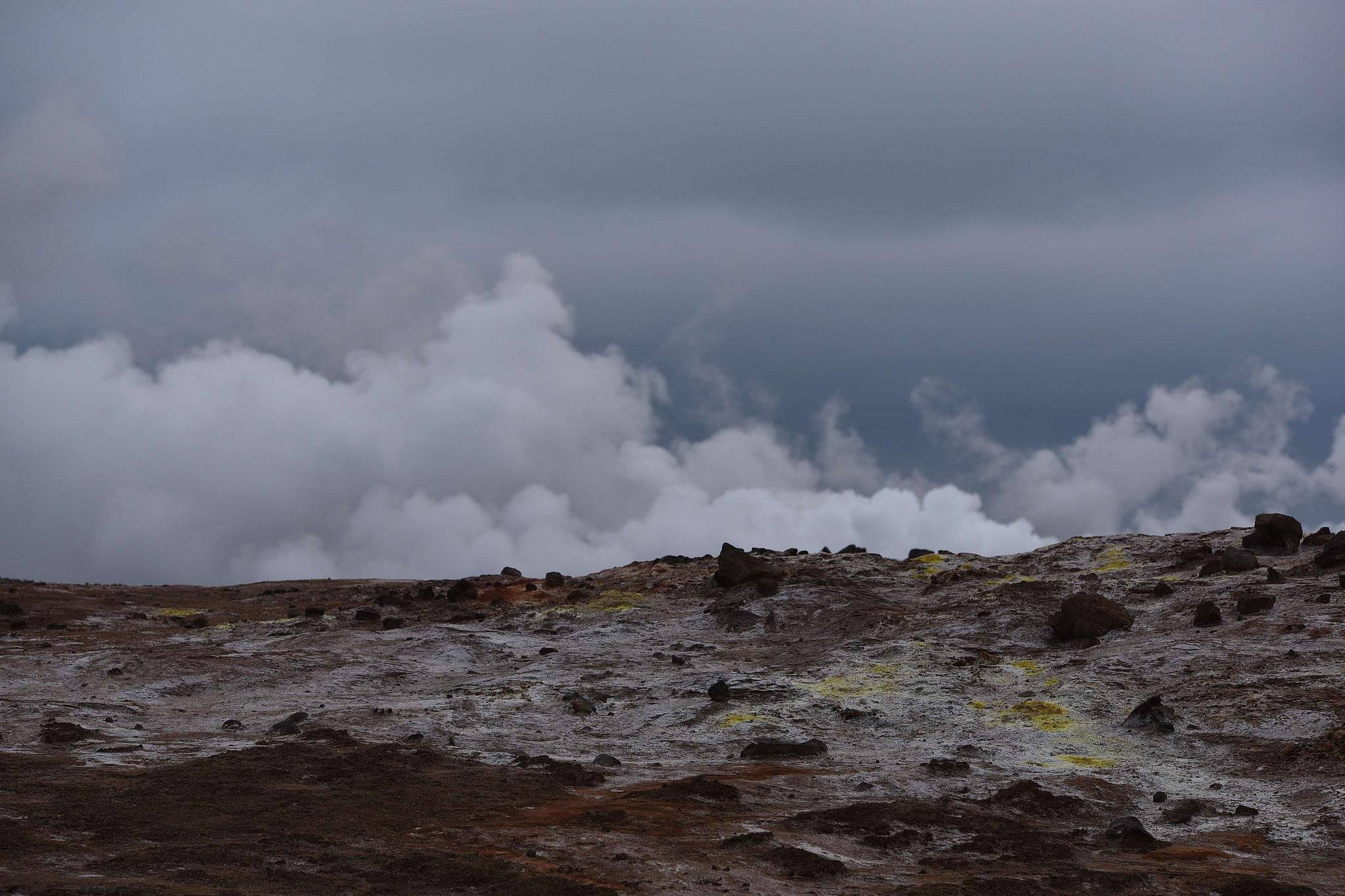 Wasserdampf westlich von Grindavík II