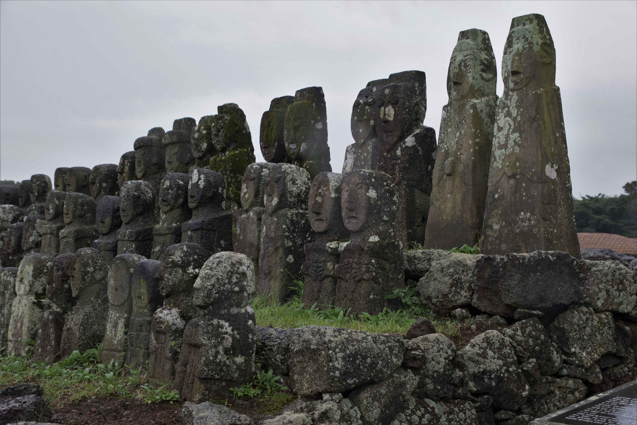 Laut Legende wurden die Kinder von Seolmundae Halmang Generäle