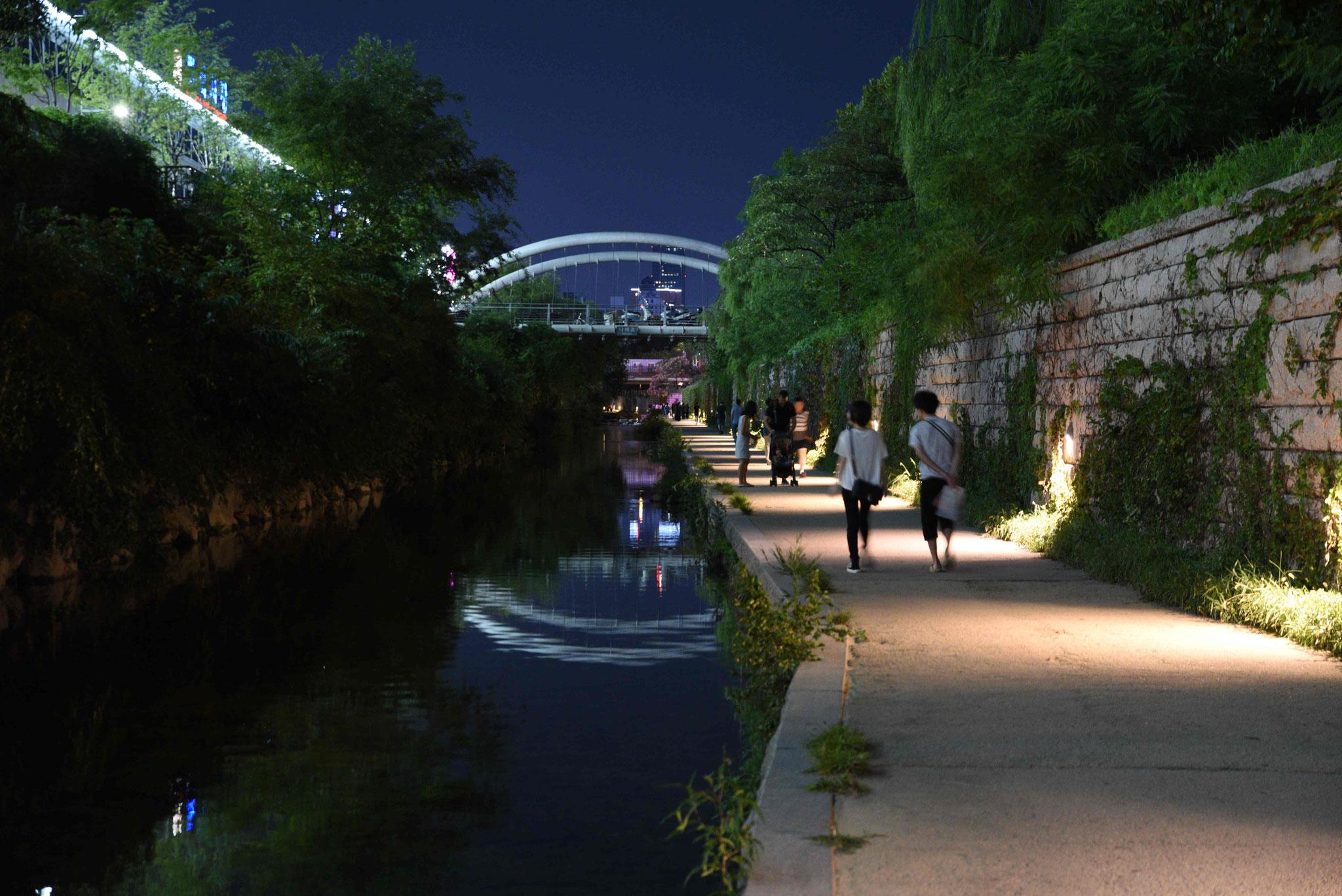 Abendspaziergang am Fluß