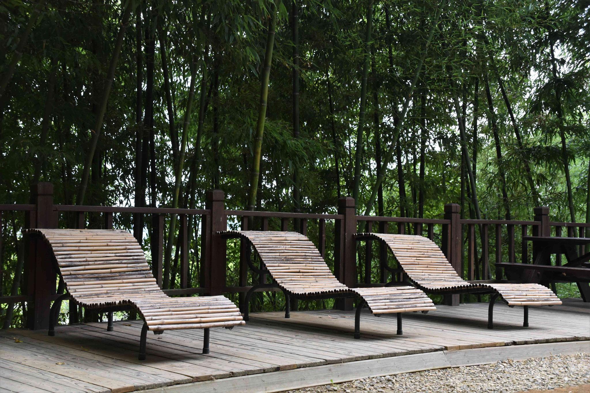 Bambus als Liegemöbel