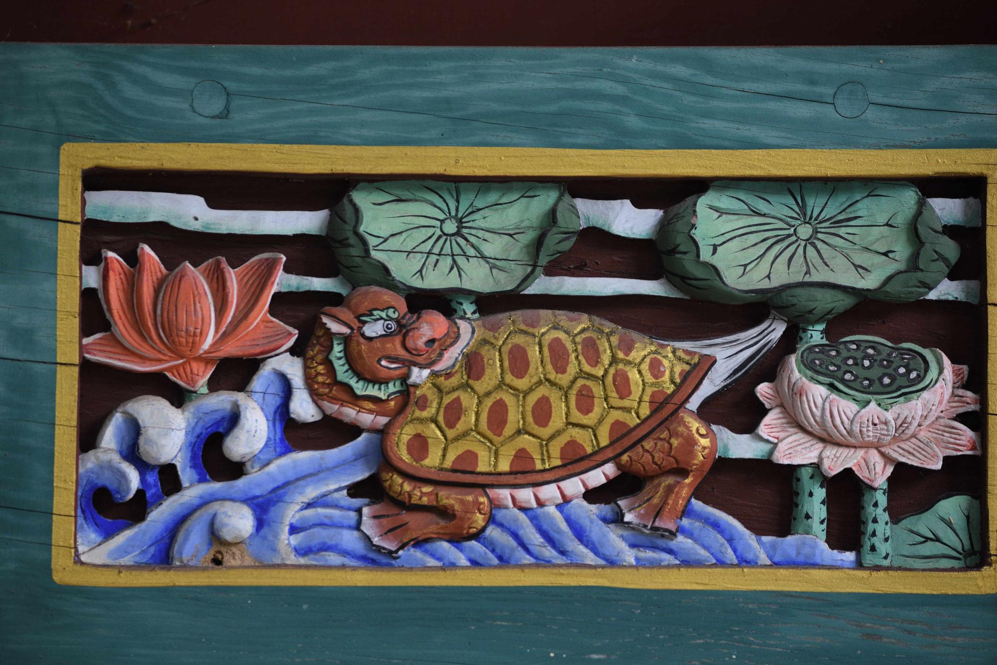 Schlidkröte sind wiederkehrende Elemente