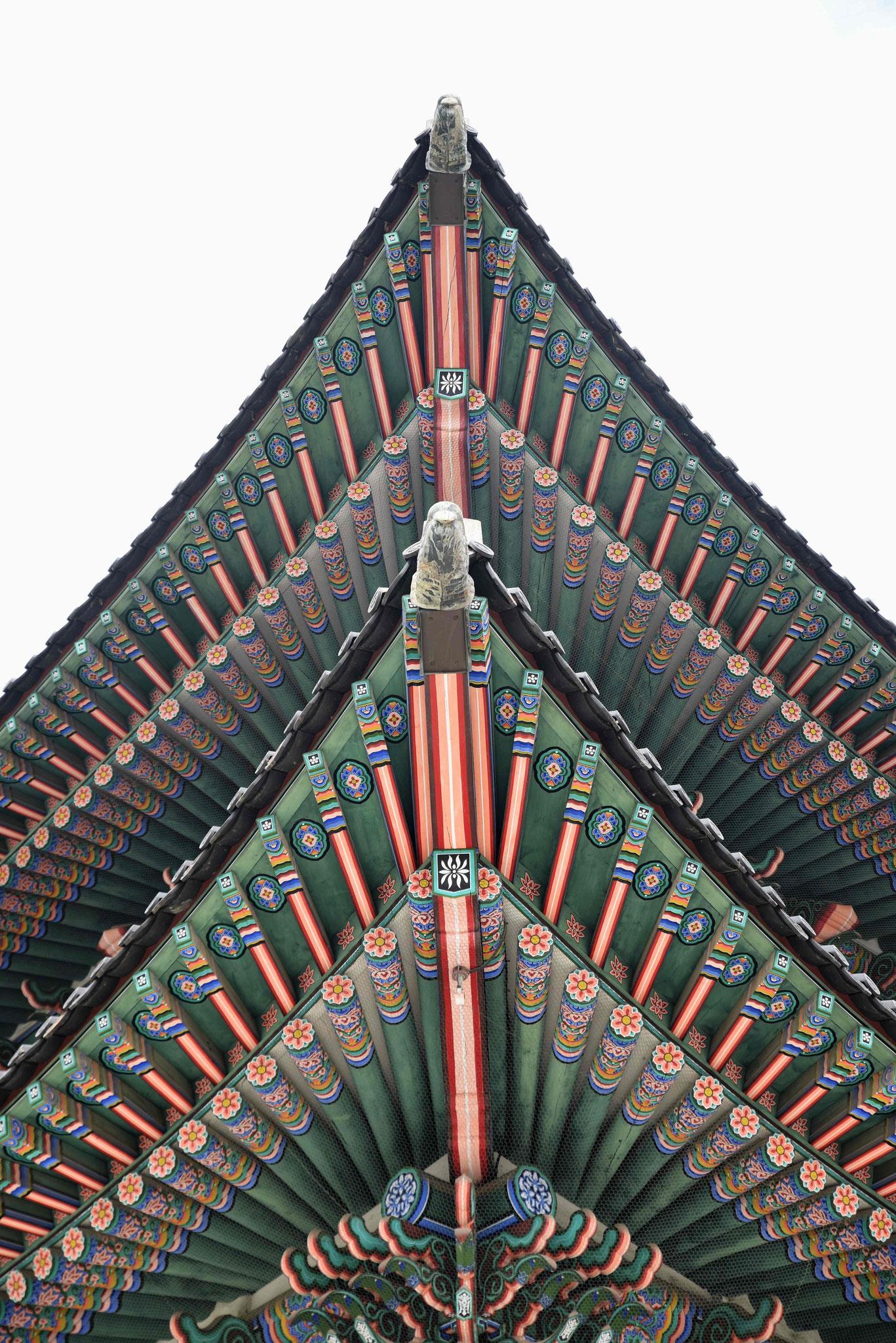 Einfach faszinierende Dachkonstruktion