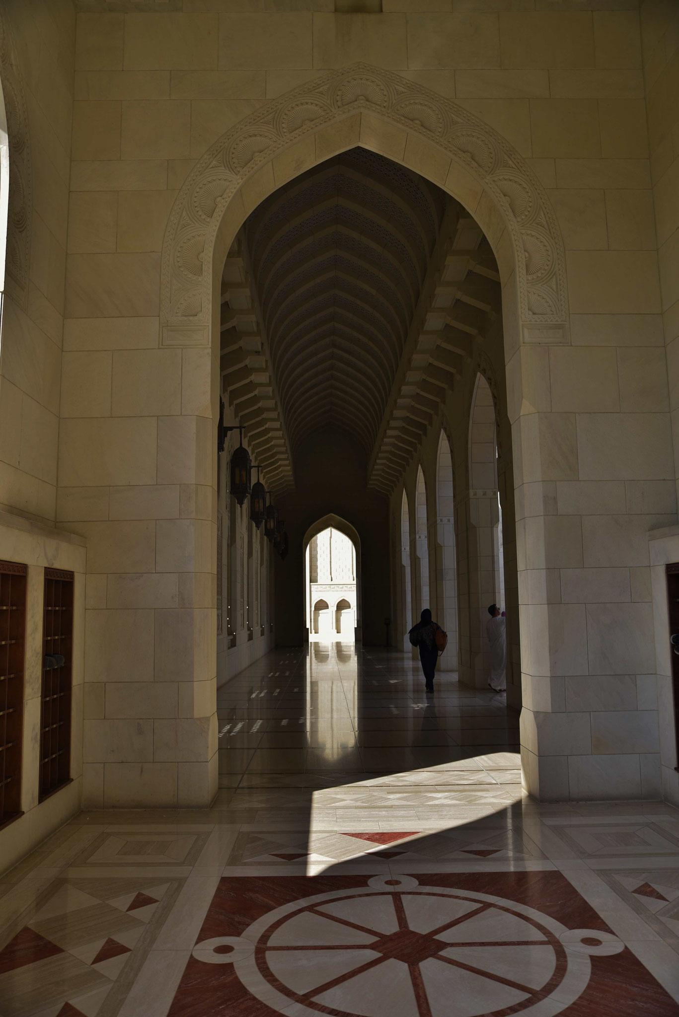 Säulengang neben dem Frauengebetsraum