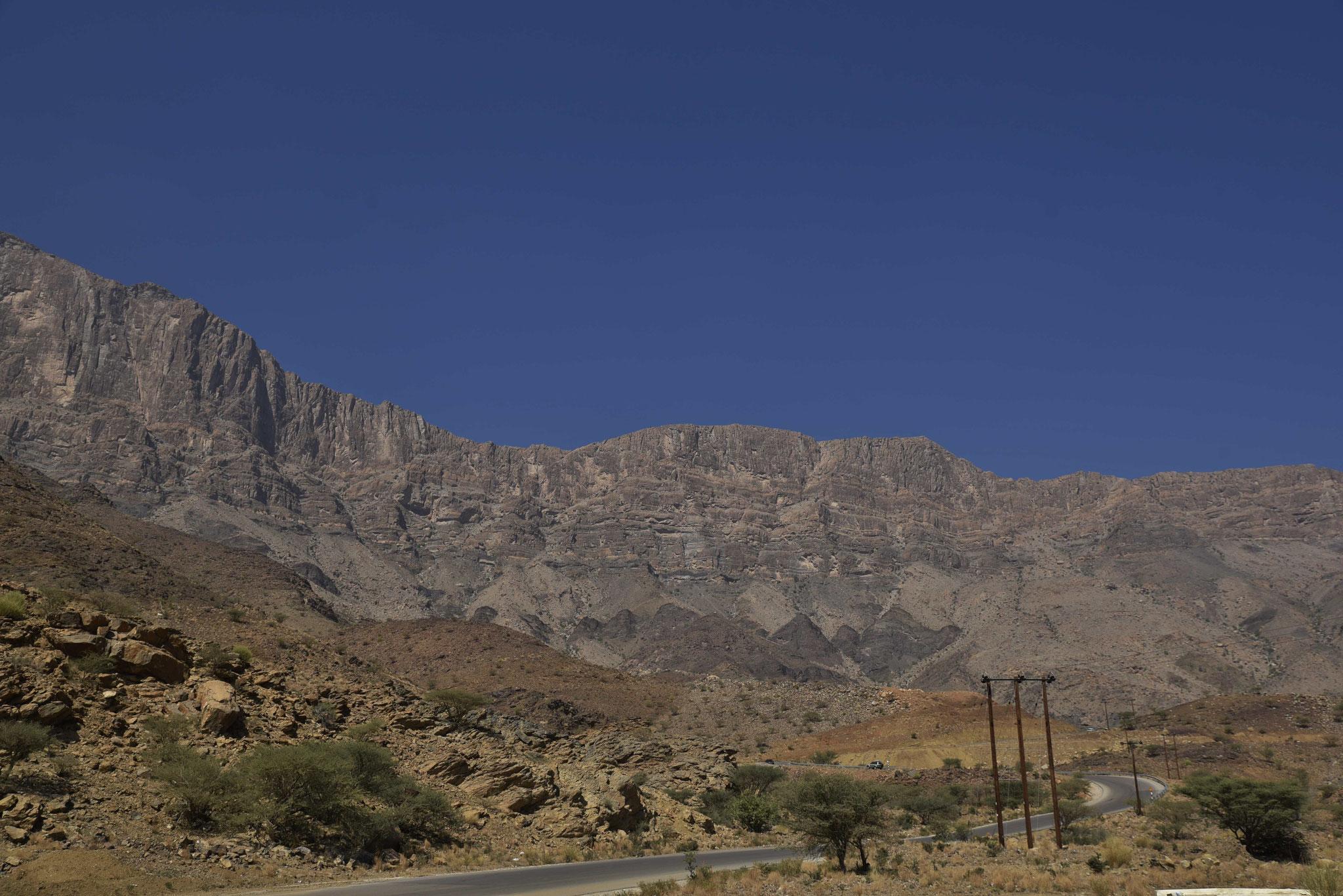 Auf dem Weg zum Jebel Shams VI