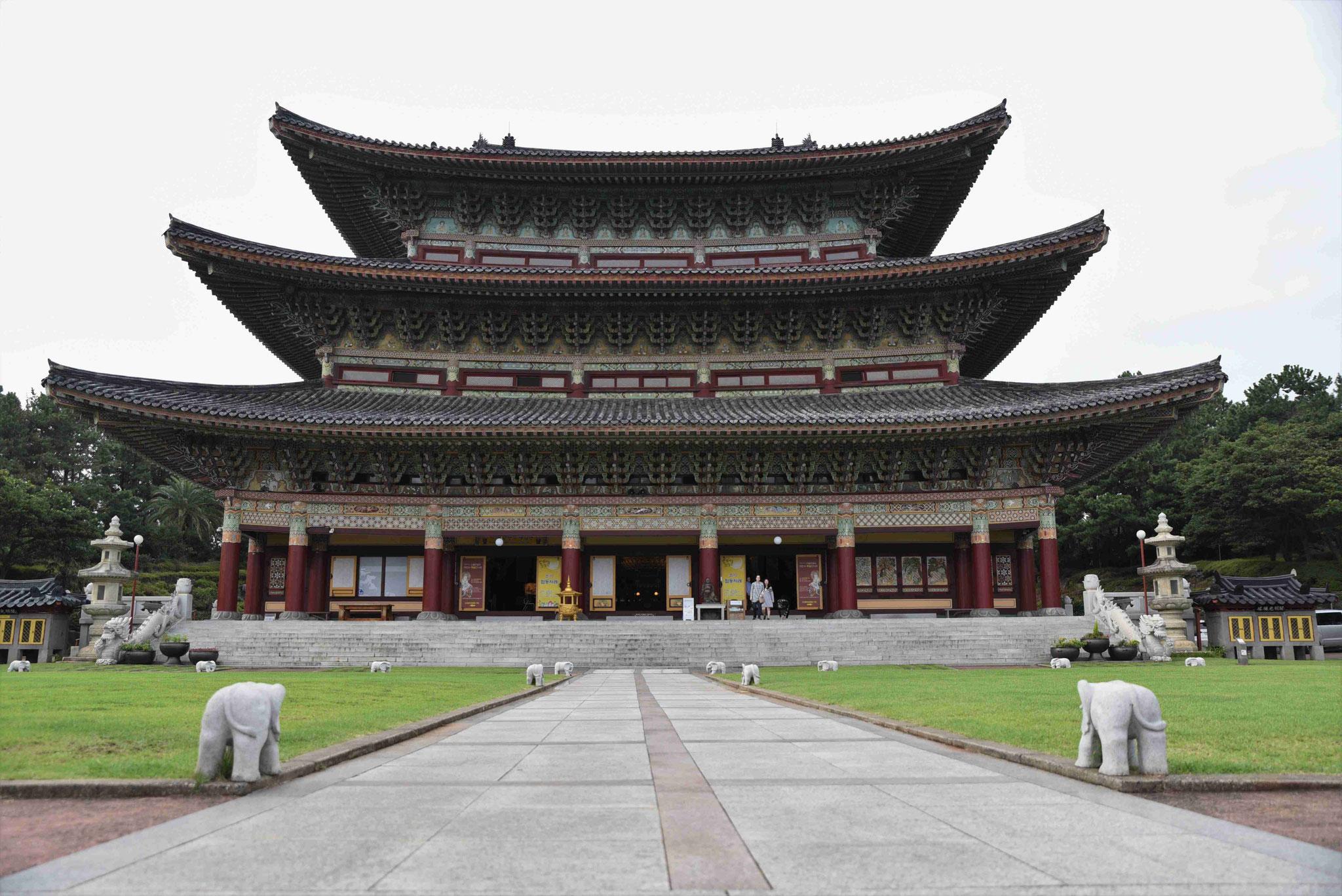 Der Tempel von Yakcheonsa