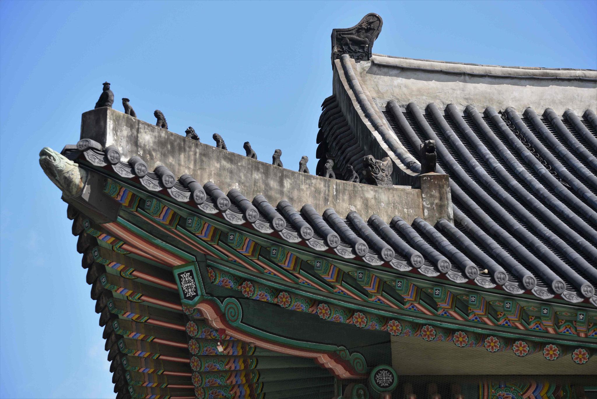 Gelungene Dachkonstruktion