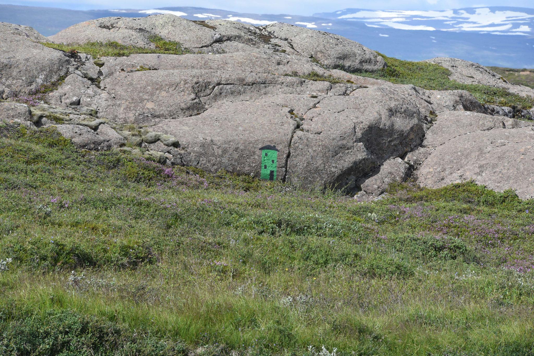 Für Trolle gemaltes Haus - es gibt sogar einen Minister für Trolle in Island!