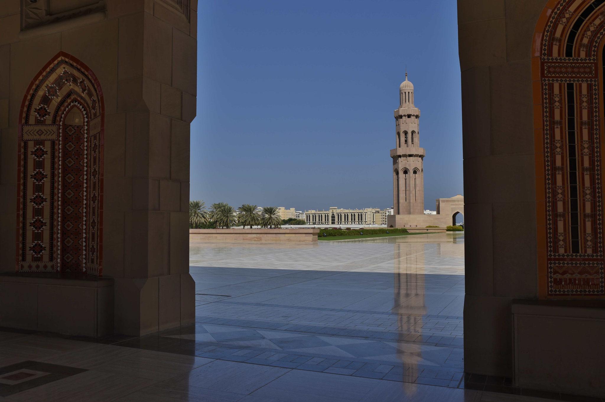 Weiteres Minarett - 5 insgesamt für jede Säule des Islam