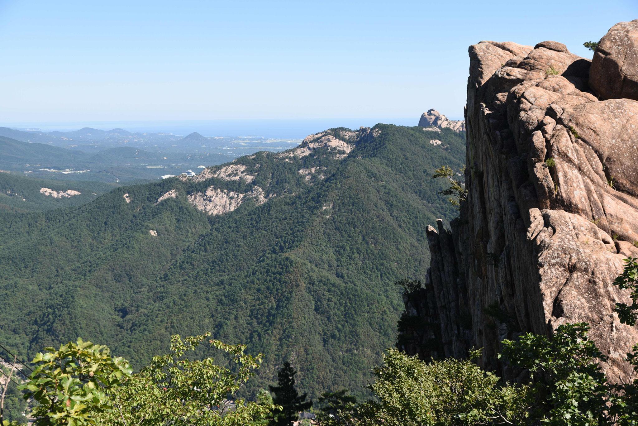 Fantastische Aussicht über den Outer Seoraksan-NP