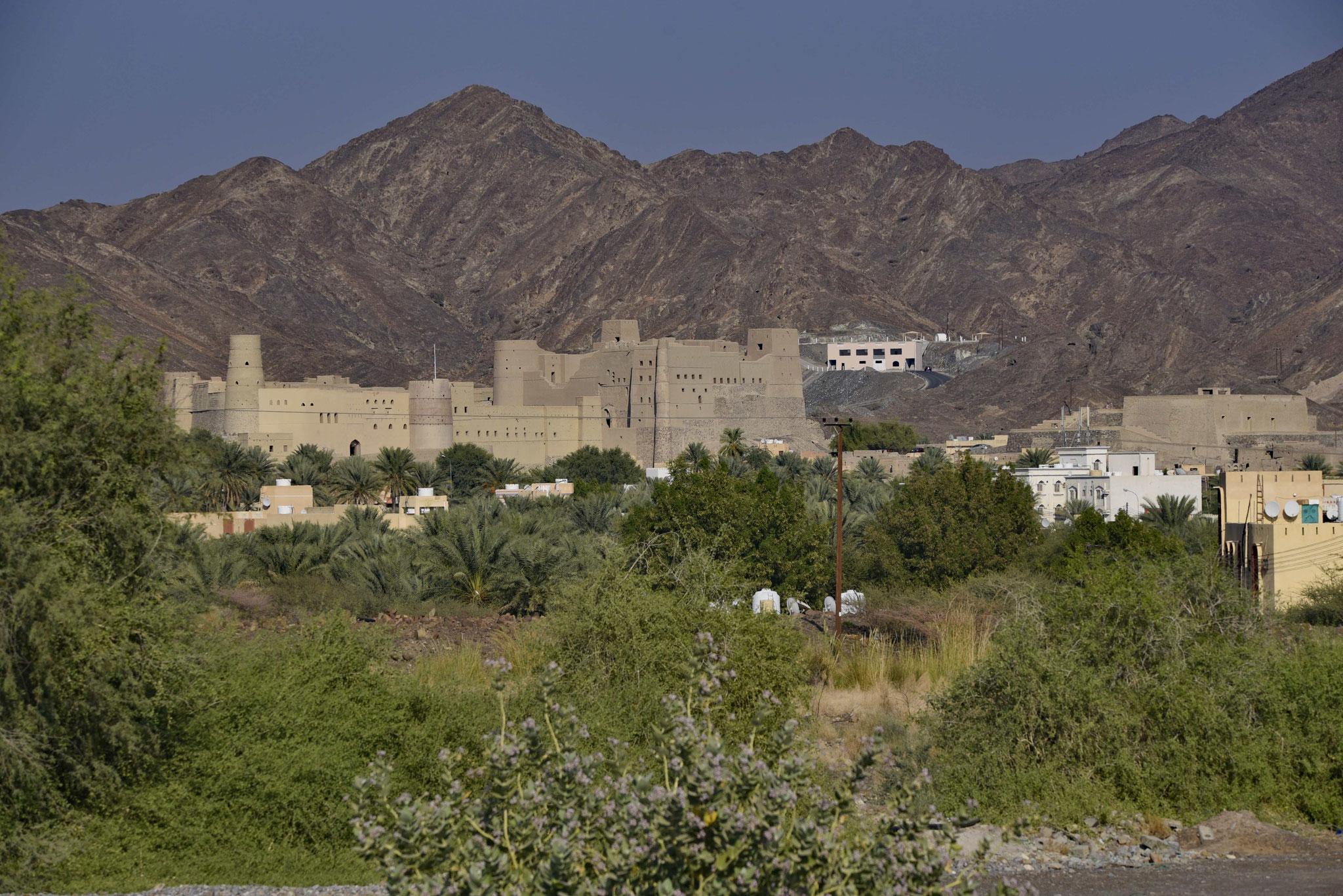 Blick auf das Fort von Bahla