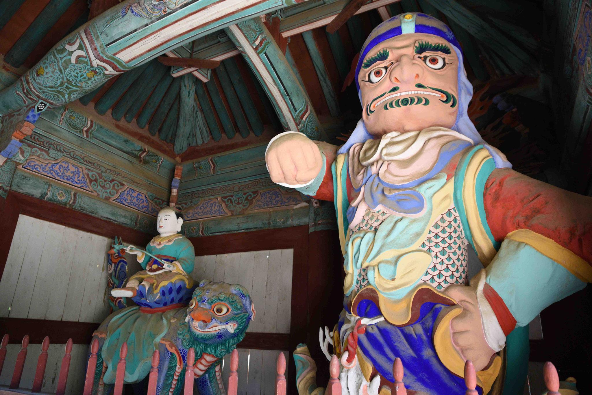 Eingangsbereich zur Tempelanlage von Magoksa