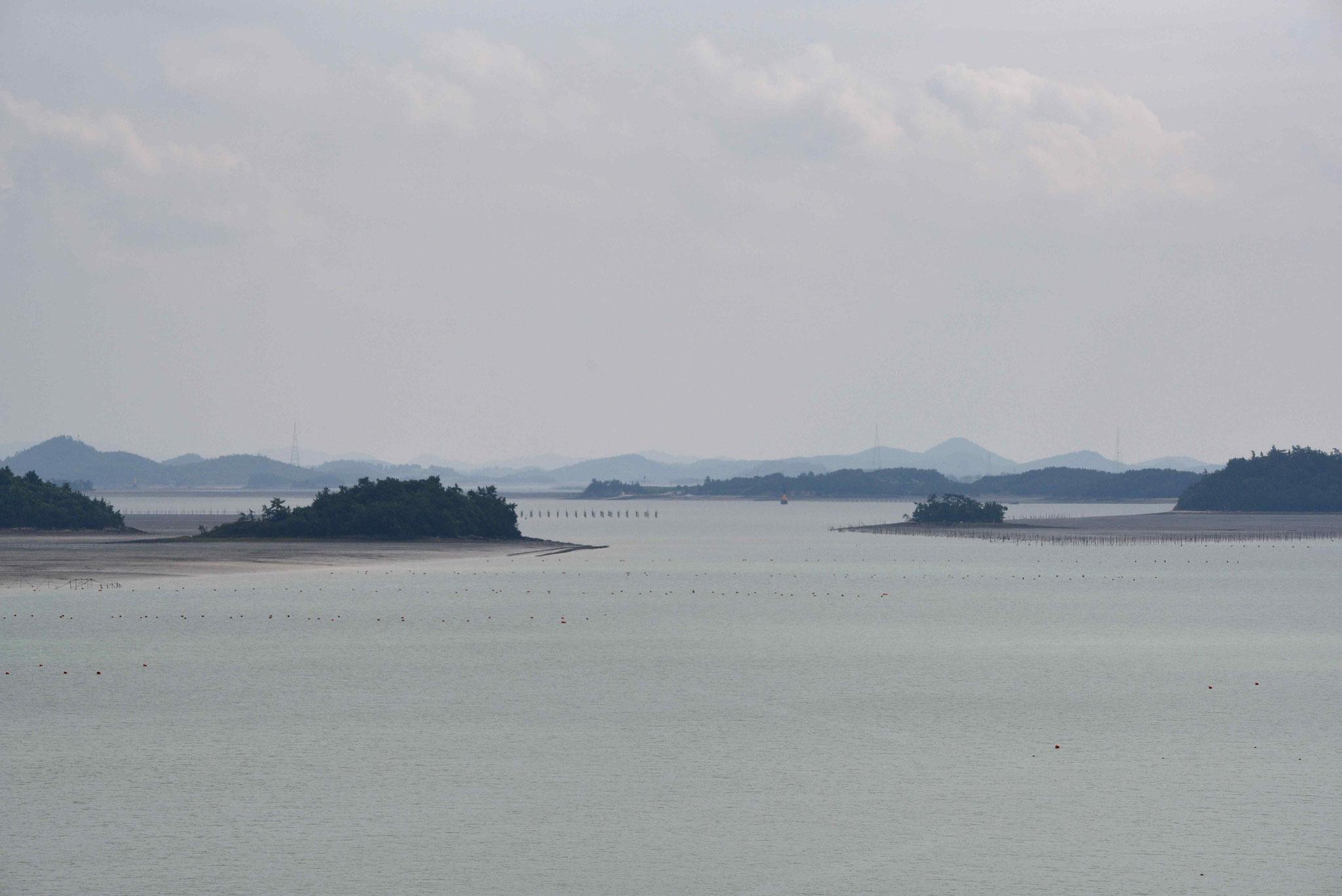 Typisch für diesen Teil sind viele Inseln