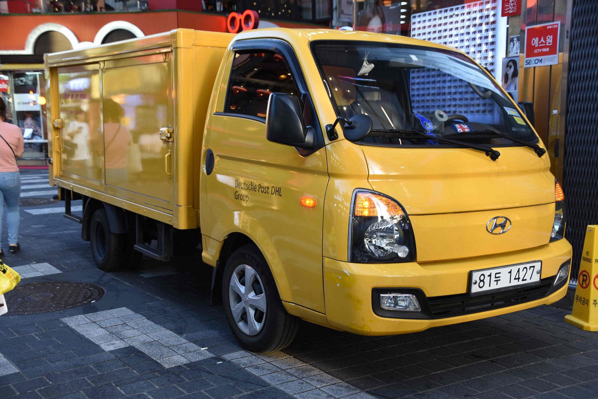 DHL liefert weltweit