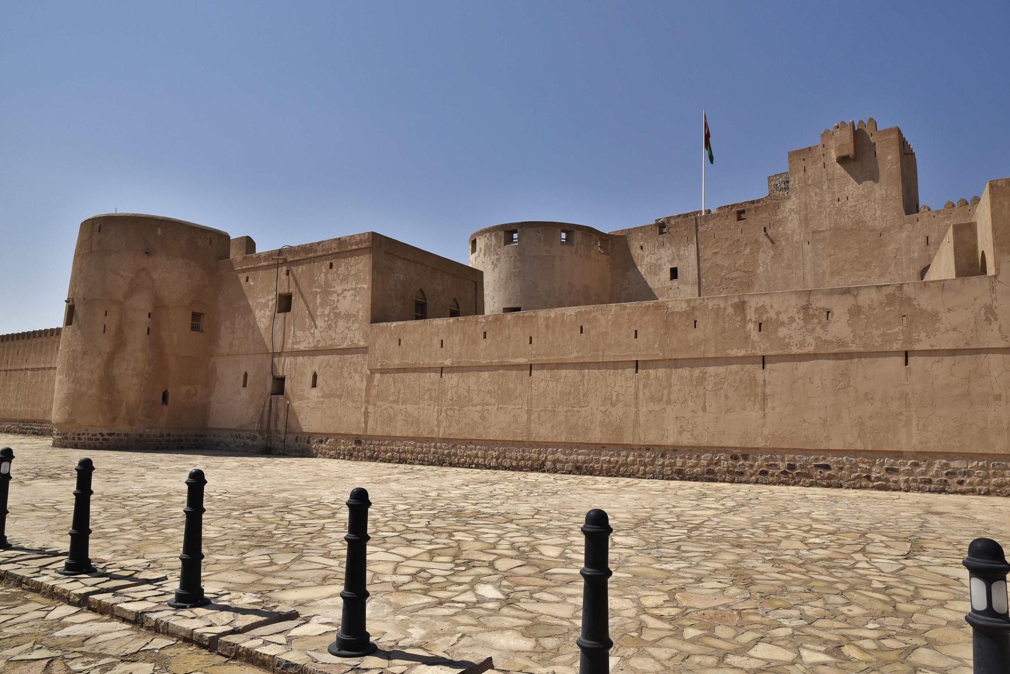 Festungsmauer von Jabrin