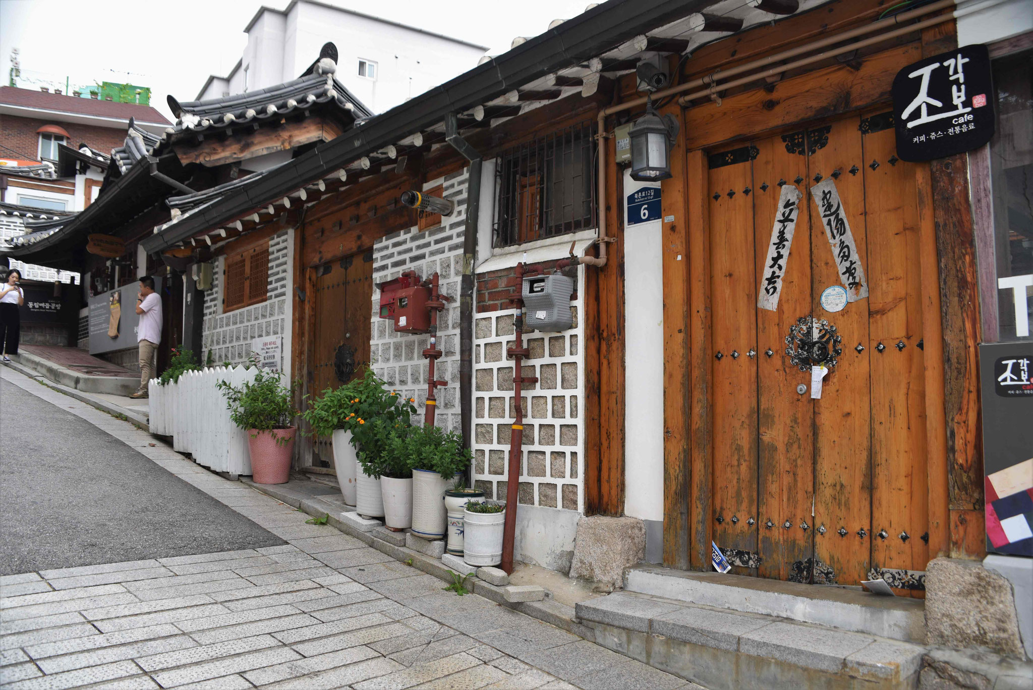 Straße in Bukchon Hanok Village
