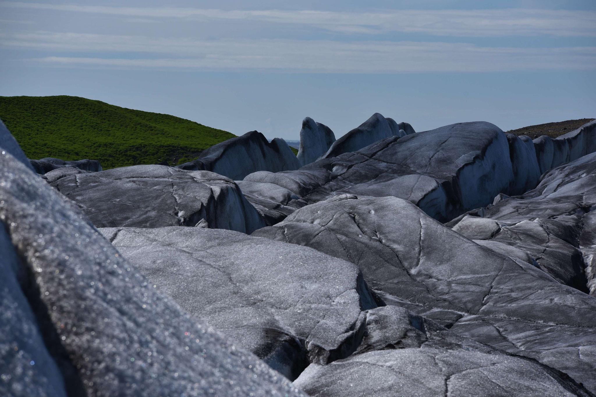 Gletscherwanderung Svinjafelljökull II