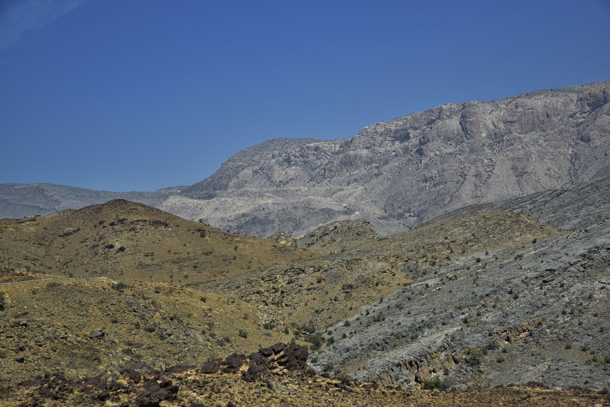 Auf dem Weg zum Jebel Shams VIII