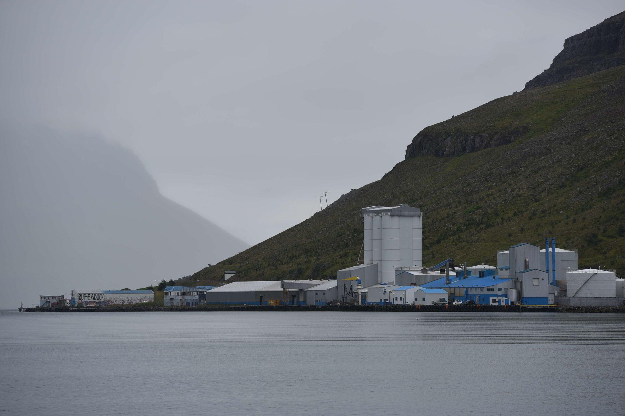 Fischfabrik in Seydisfjördur