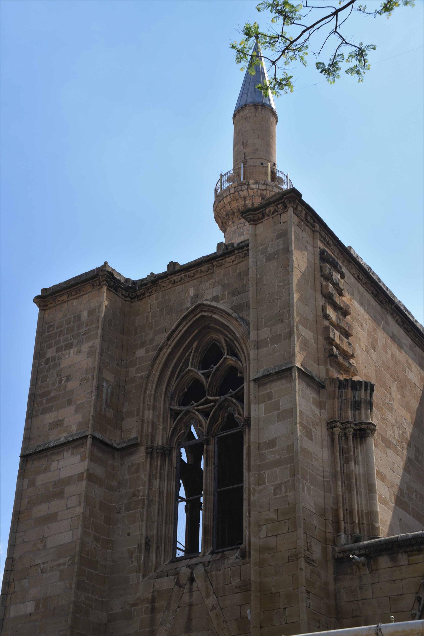 Außenansicht der Moschee