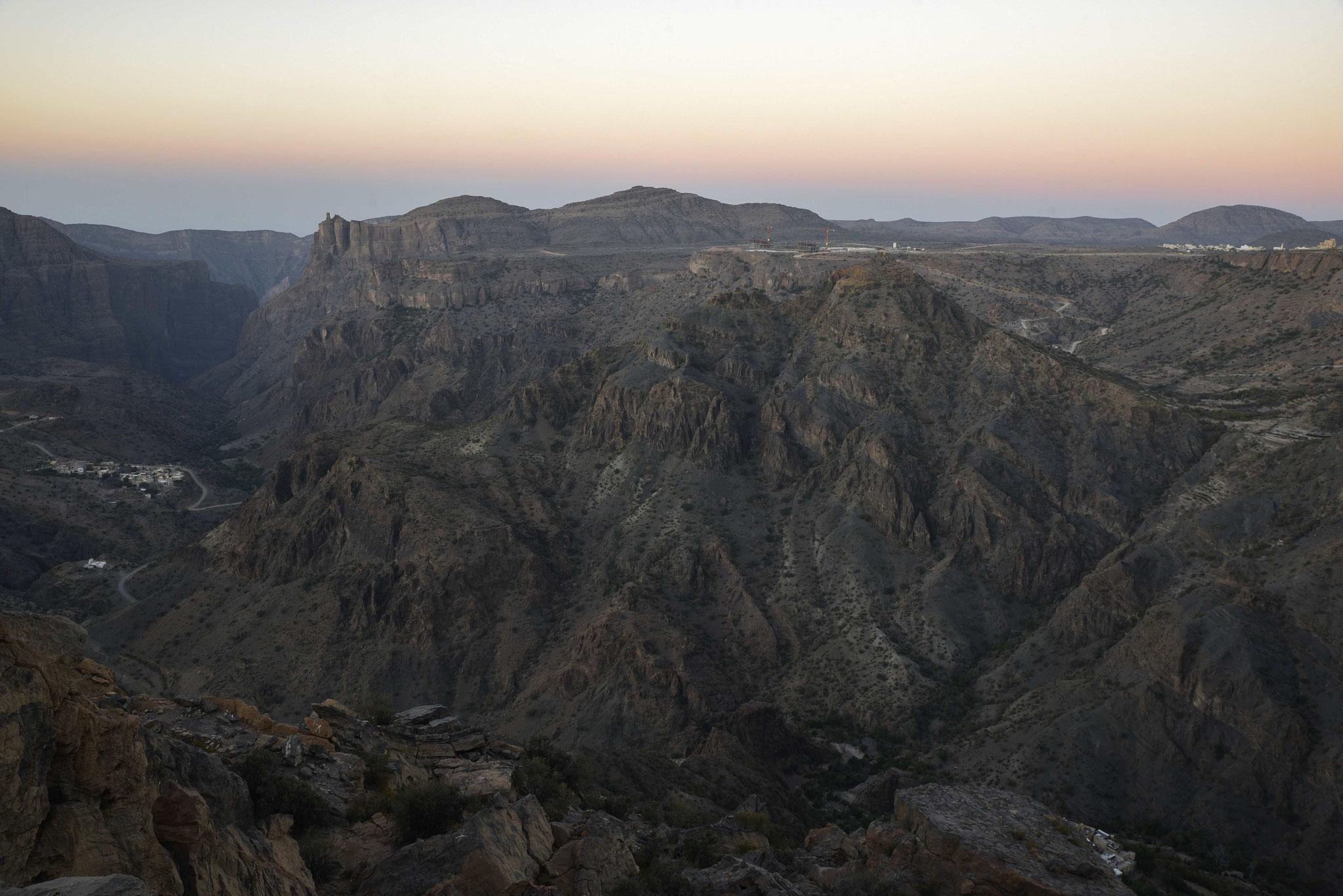 Sonnenaufgang am Jebel Akhdar II