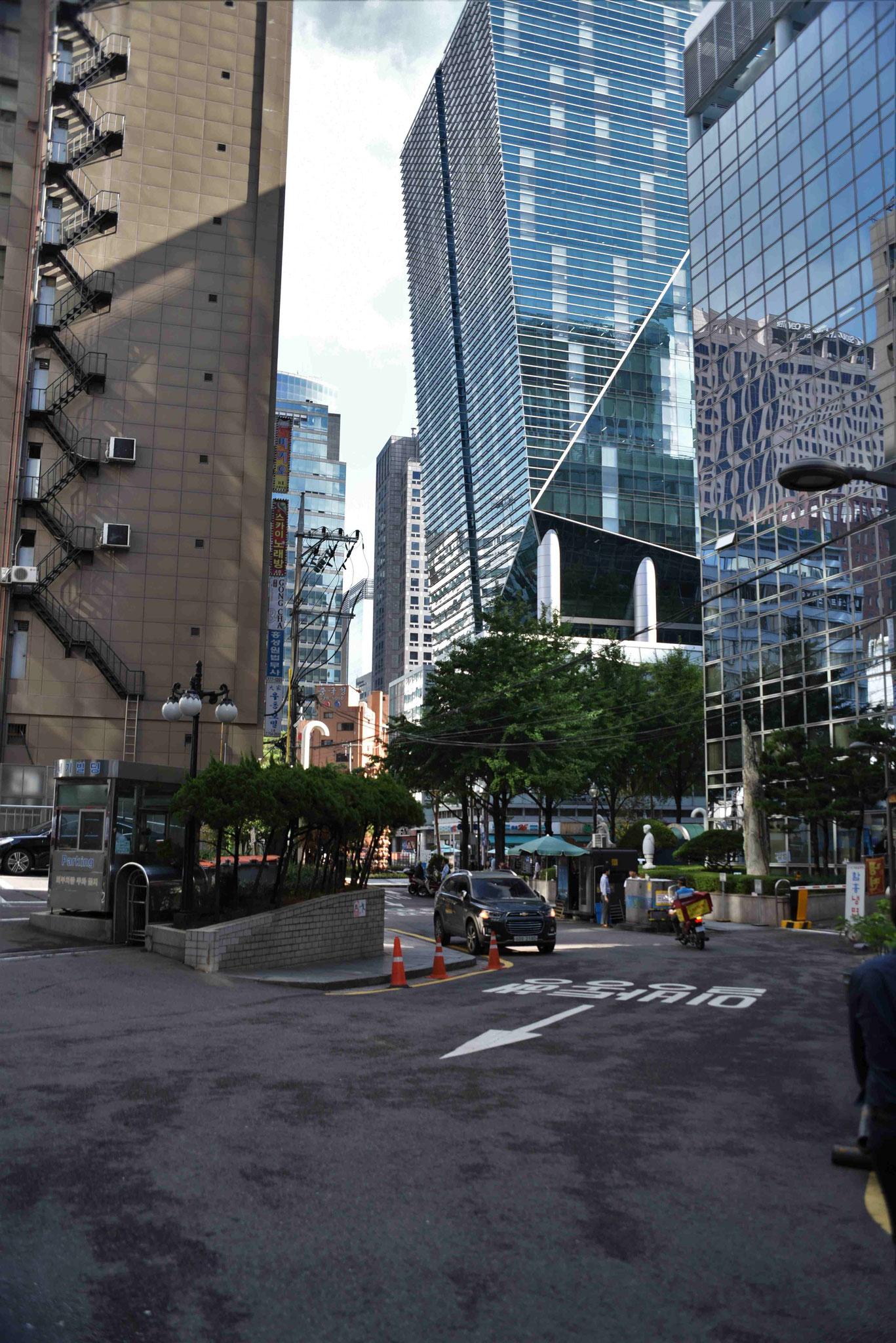 Nebenstraße - Erinnerungen an New York werden geweckt